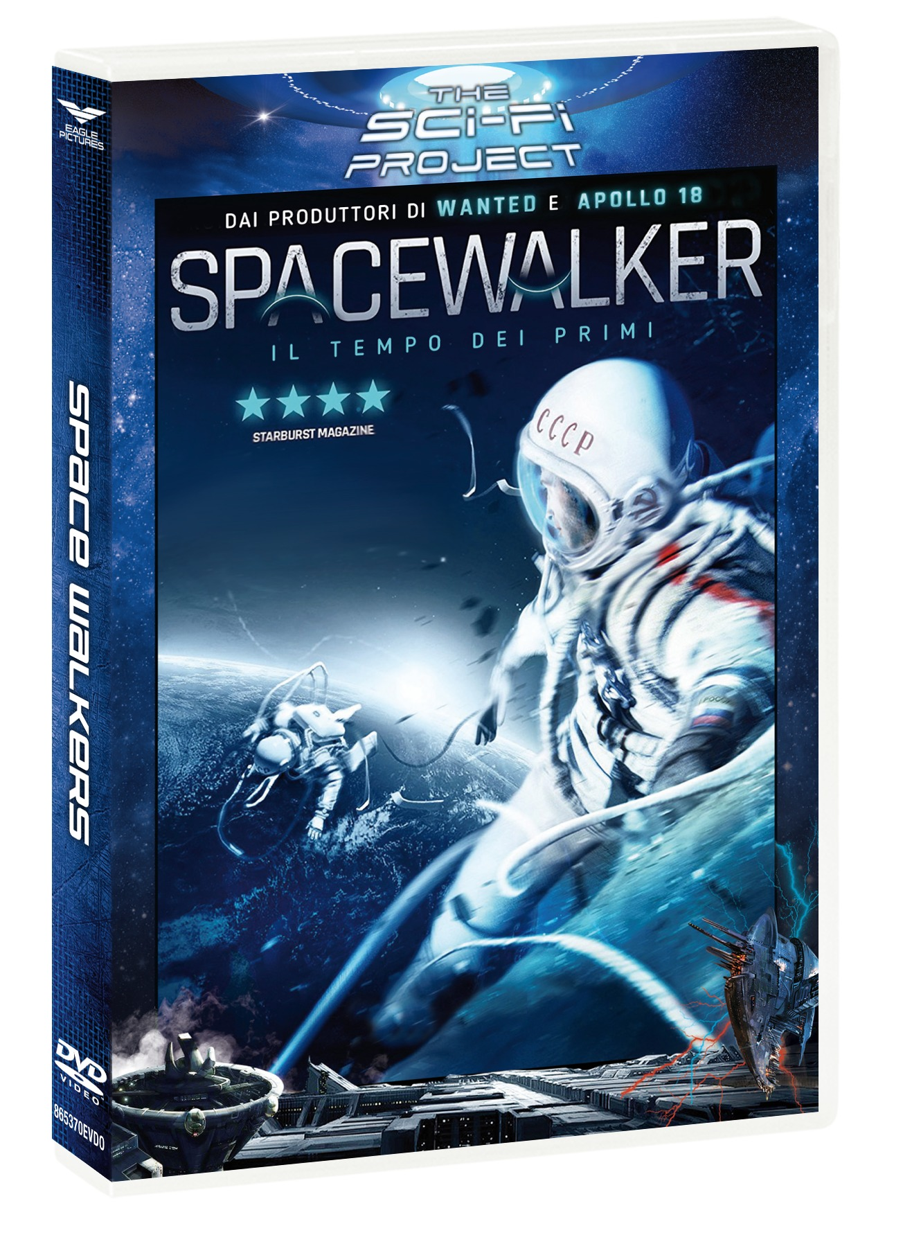 THE SPACEWALKER (SCI-FI PROJECT) (DVD)