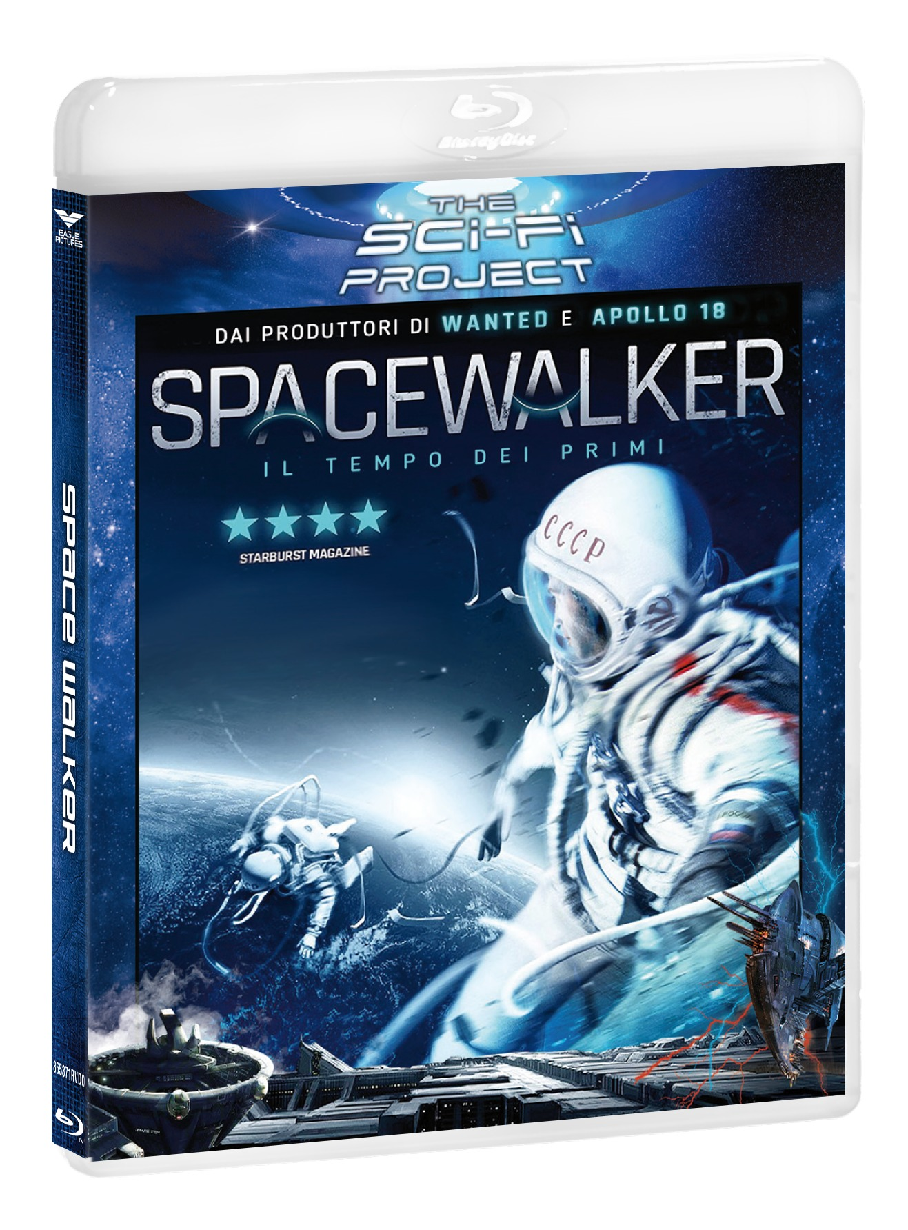 THE SPACEWALKER (SCI-FI PROJECT) - BLU RAY