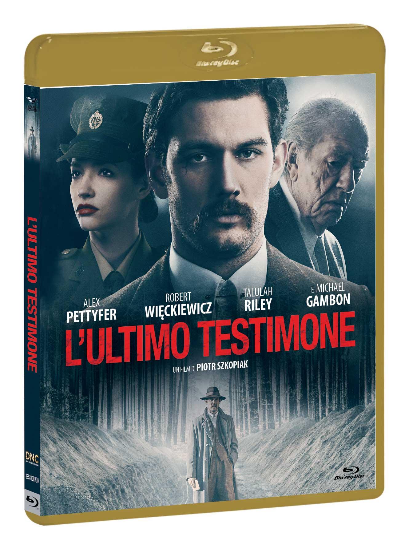 L'ULTIMO TESTIMONE - BLU RAY