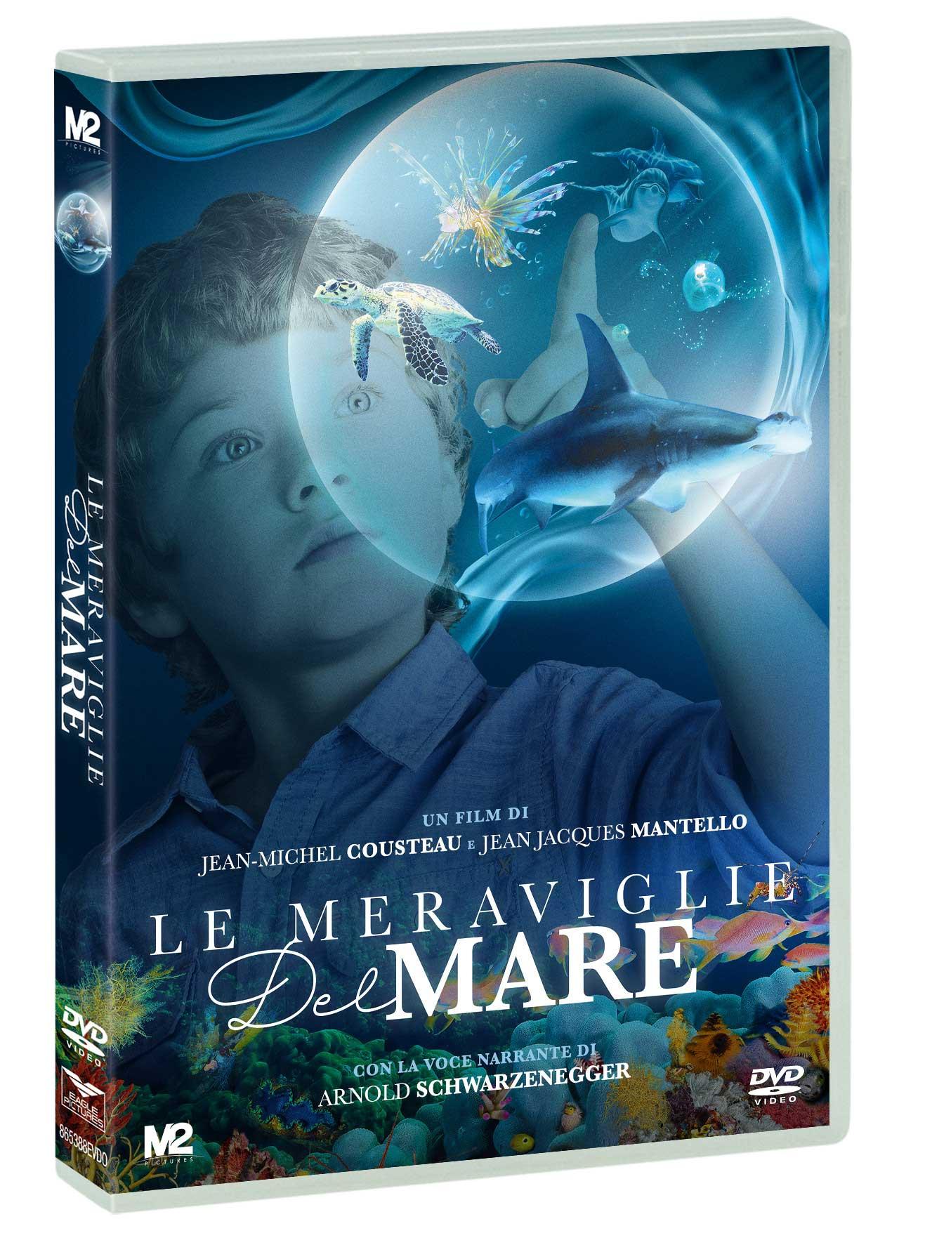 COF.LE MERAVIGLIE DEL MARE (2D+3D) (DVD)