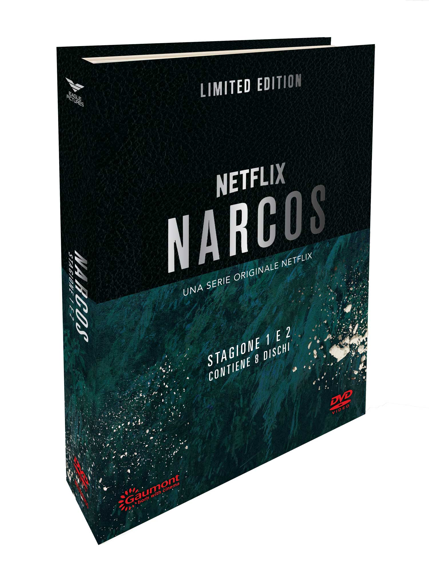 COF.NARCOS - STAGIONE 01-02 (CE LIMITATA E NUMERATA) (8 DVD+GADGET) (DVD)