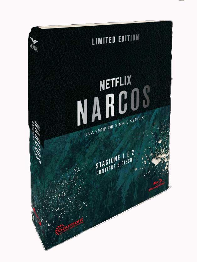 COF.NARCOS - STAGIONE 01-02 (CE LIMITATA E NUMERATA) (6 BLU-RAY+