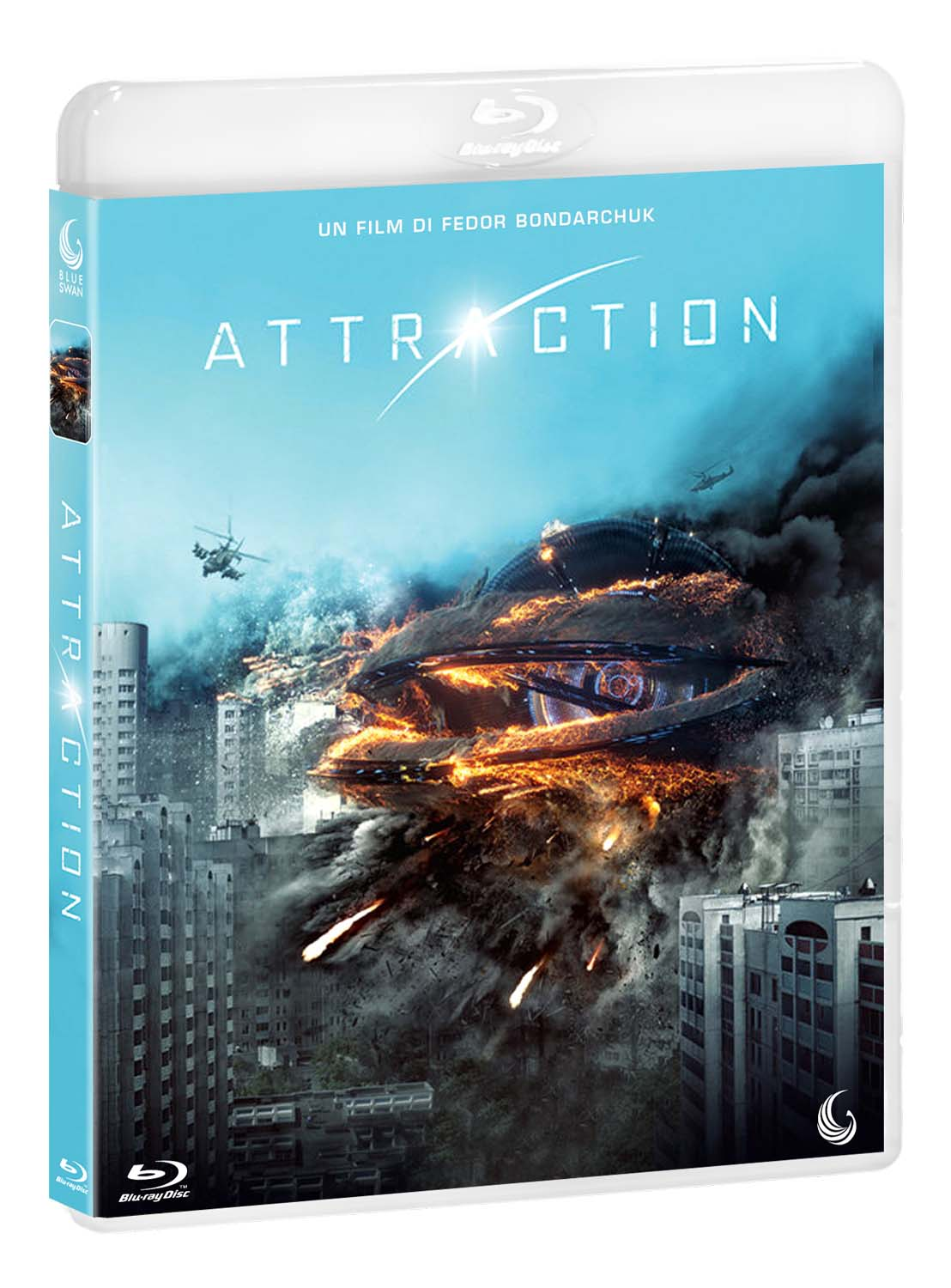 ATTRACTION - BLU RAY