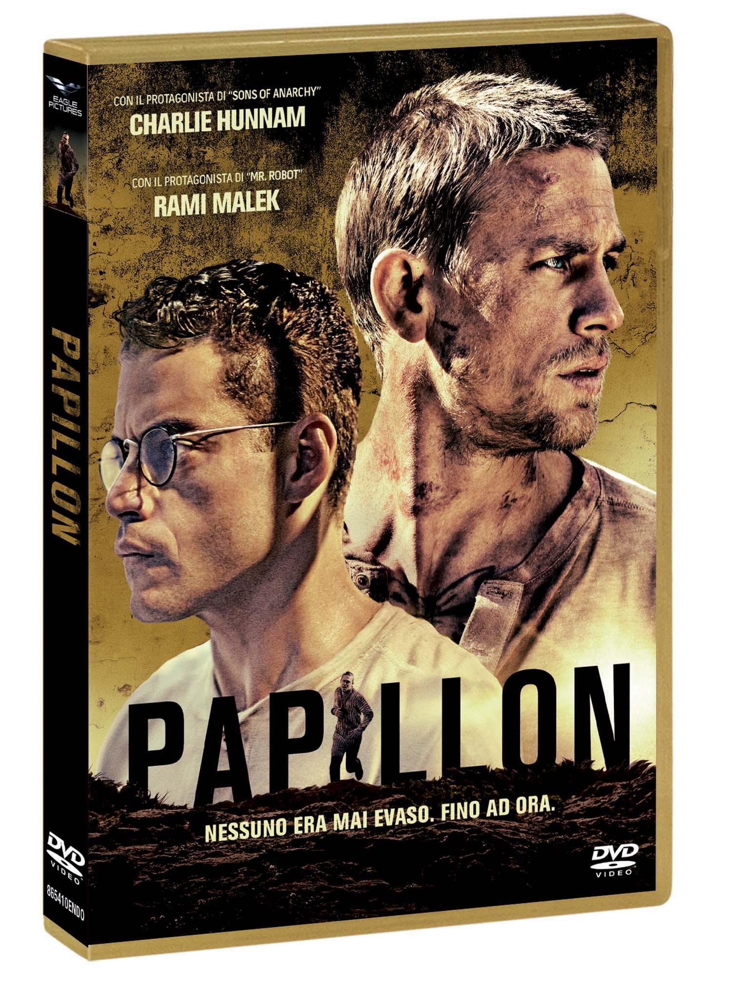 PAPILLON (2018) (DVD)