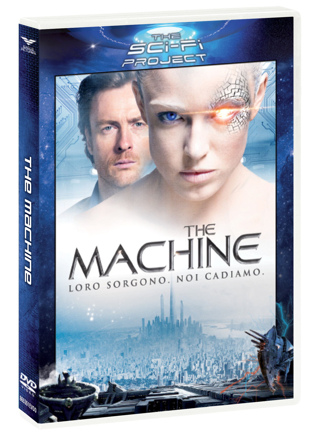 THE MACHINE (SCI-FI PROJECT) (DVD)