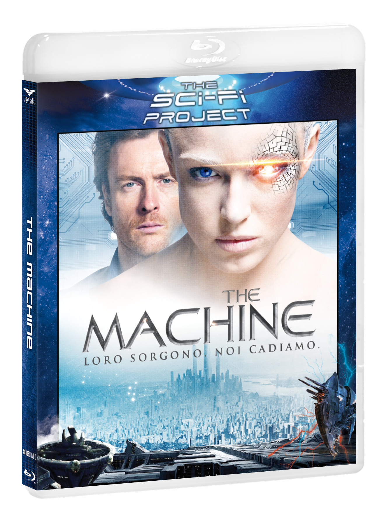 THE MACHINE (SCI-FI PROJECT) - BLU RAY