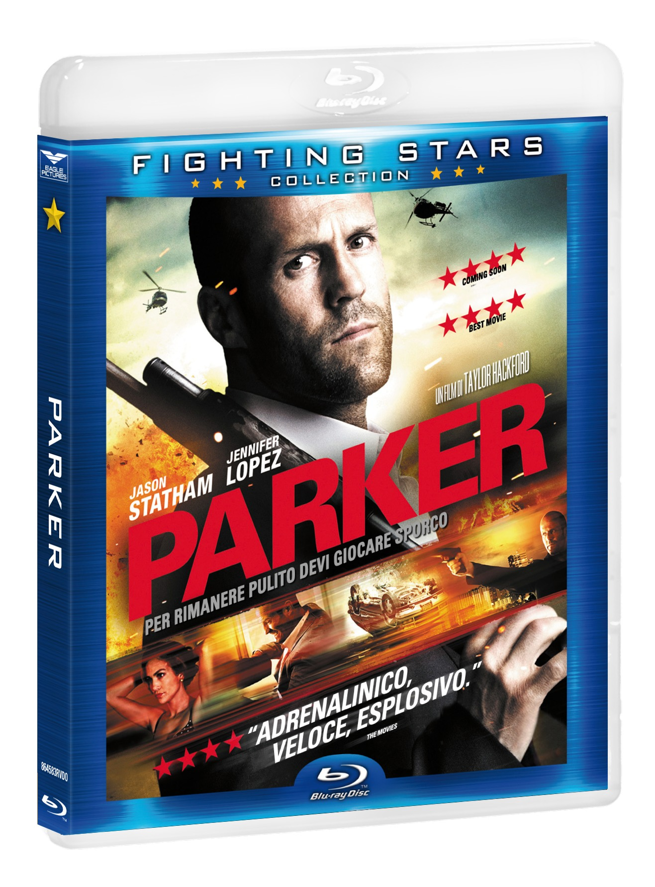 PARKER (FIGHTING STARS) - BLU RAY