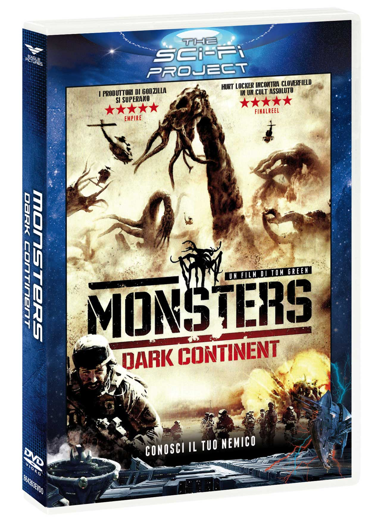 MONSTERS - DARK CONTINENT (SCI-FI PROJECT) (DVD)