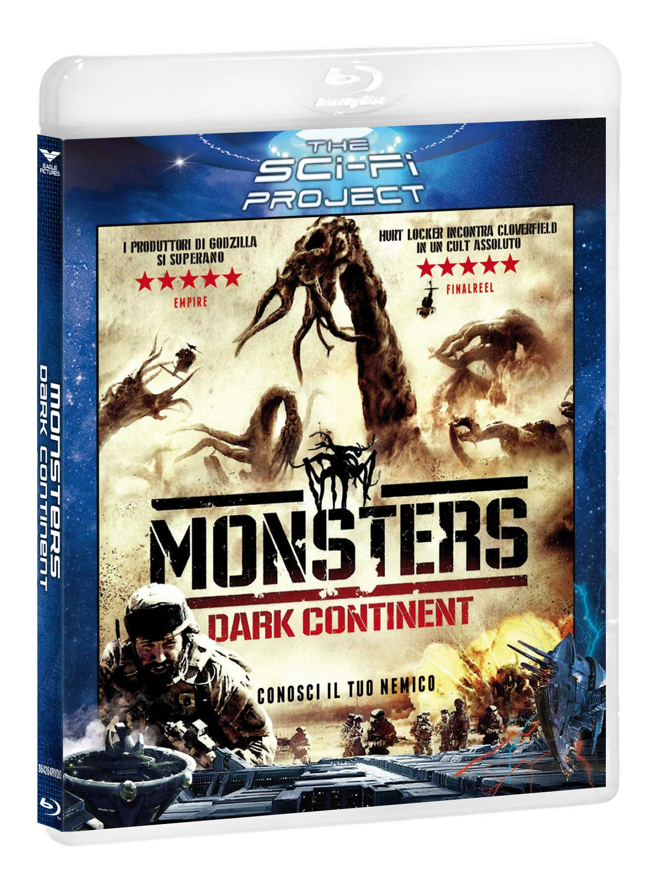 MONSTERS - DARK CONTINENT (SCI-FI PROJECT) - BLU RAY
