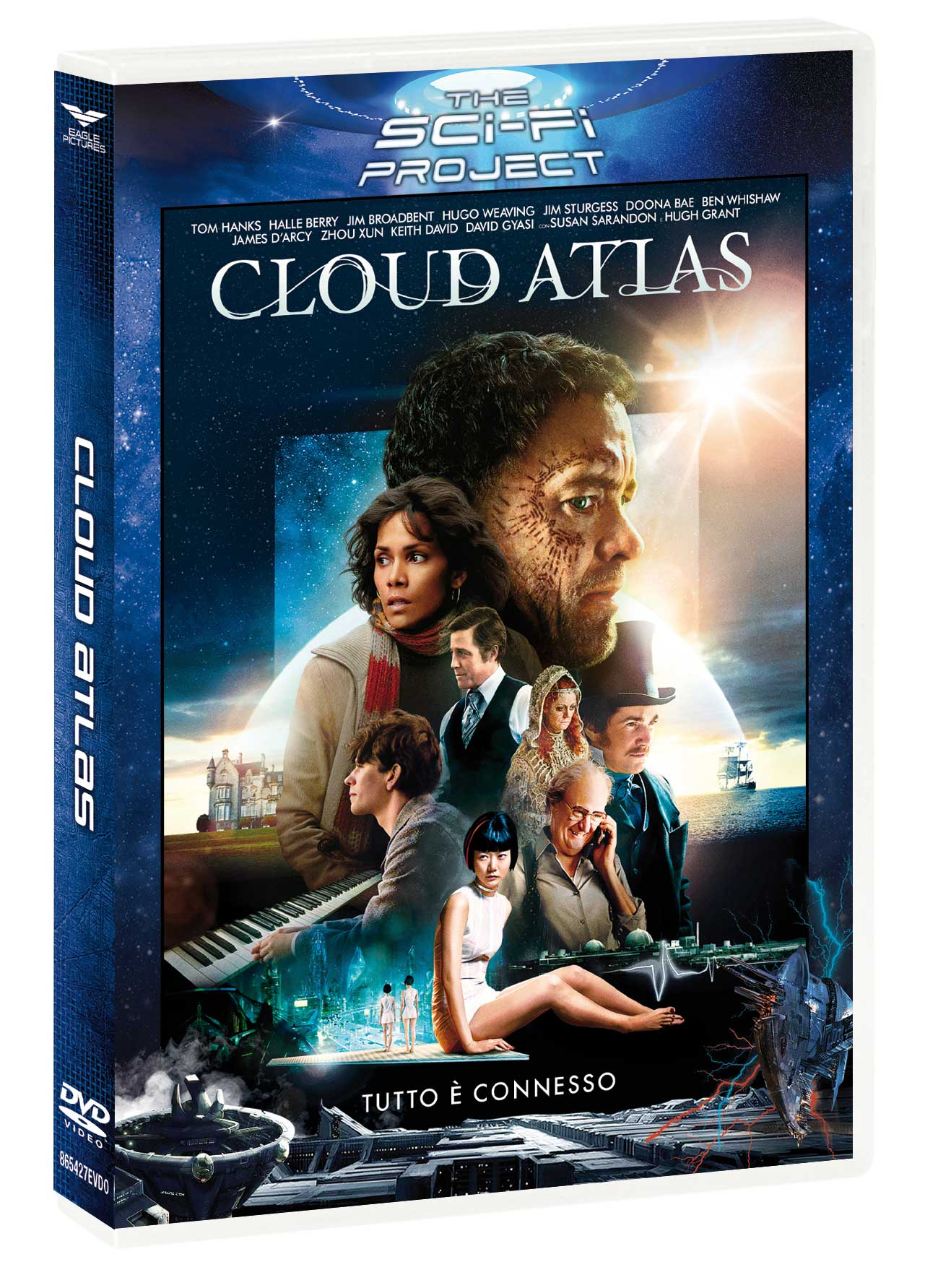 CLOUD ATLAS (SCI-FI PROJECT) (DVD)