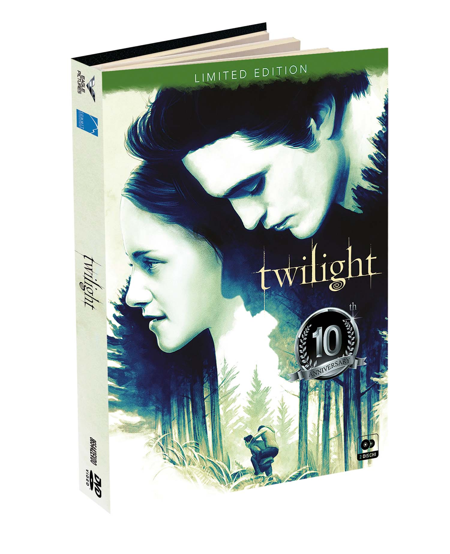 TWILIGHT DIGIBOOK (2 DVD) (DVD)