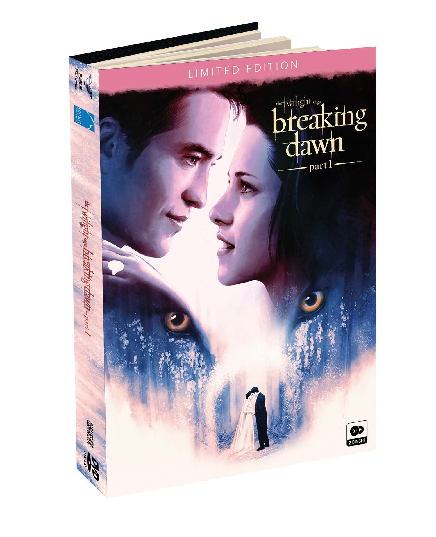 BREAKING DAWN PARTE 1 DIGIBOOK (2 DVD) (DVD)