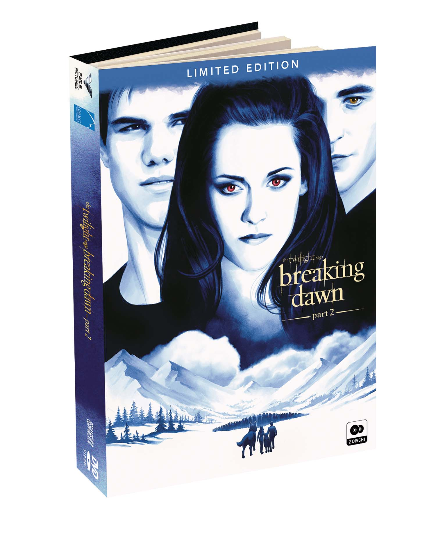 BREAKING DAWN PARTE 2 DIGIBOOK (2 DVD) (DVD)