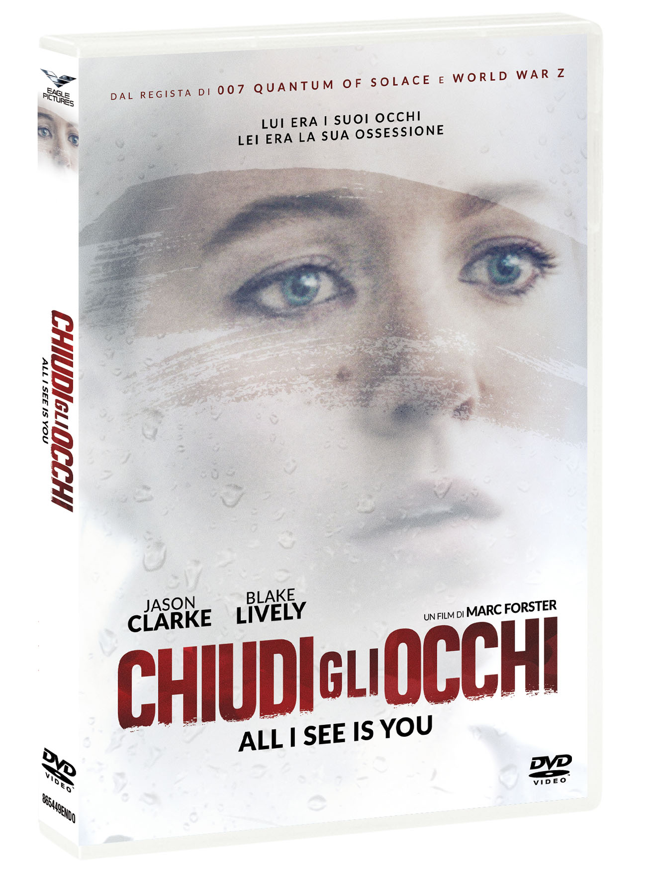 CHIUDI GLI OCCHI - ALL I SEE IS YOU (DVD)