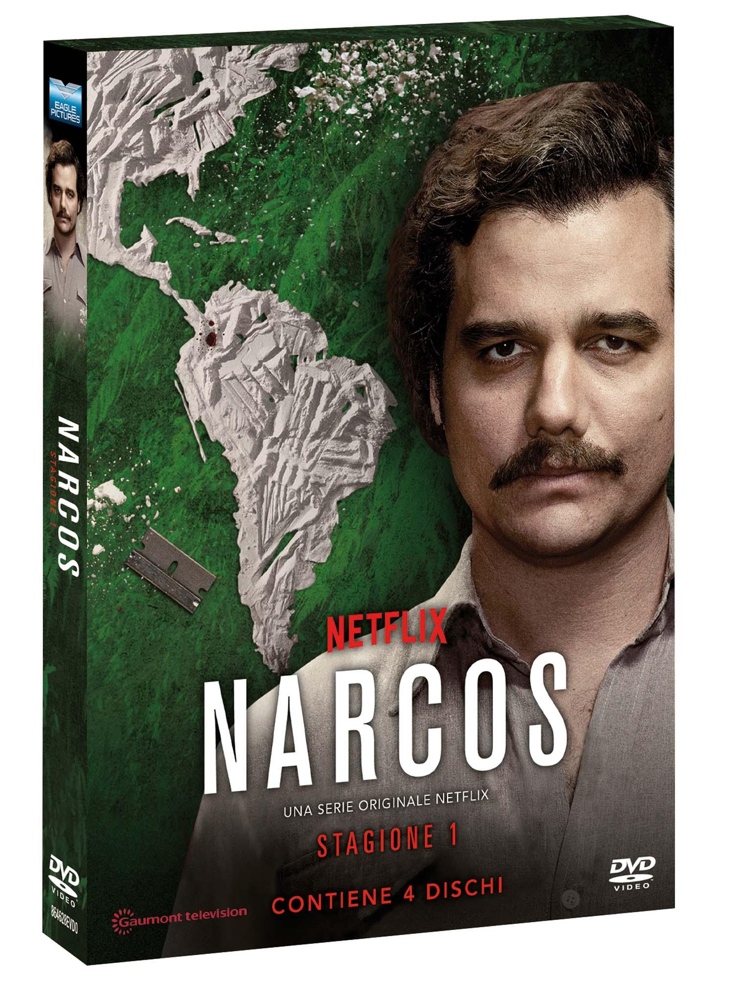 COF.NARCOS - STAGIONE 03 (4 DVD) (DVD)