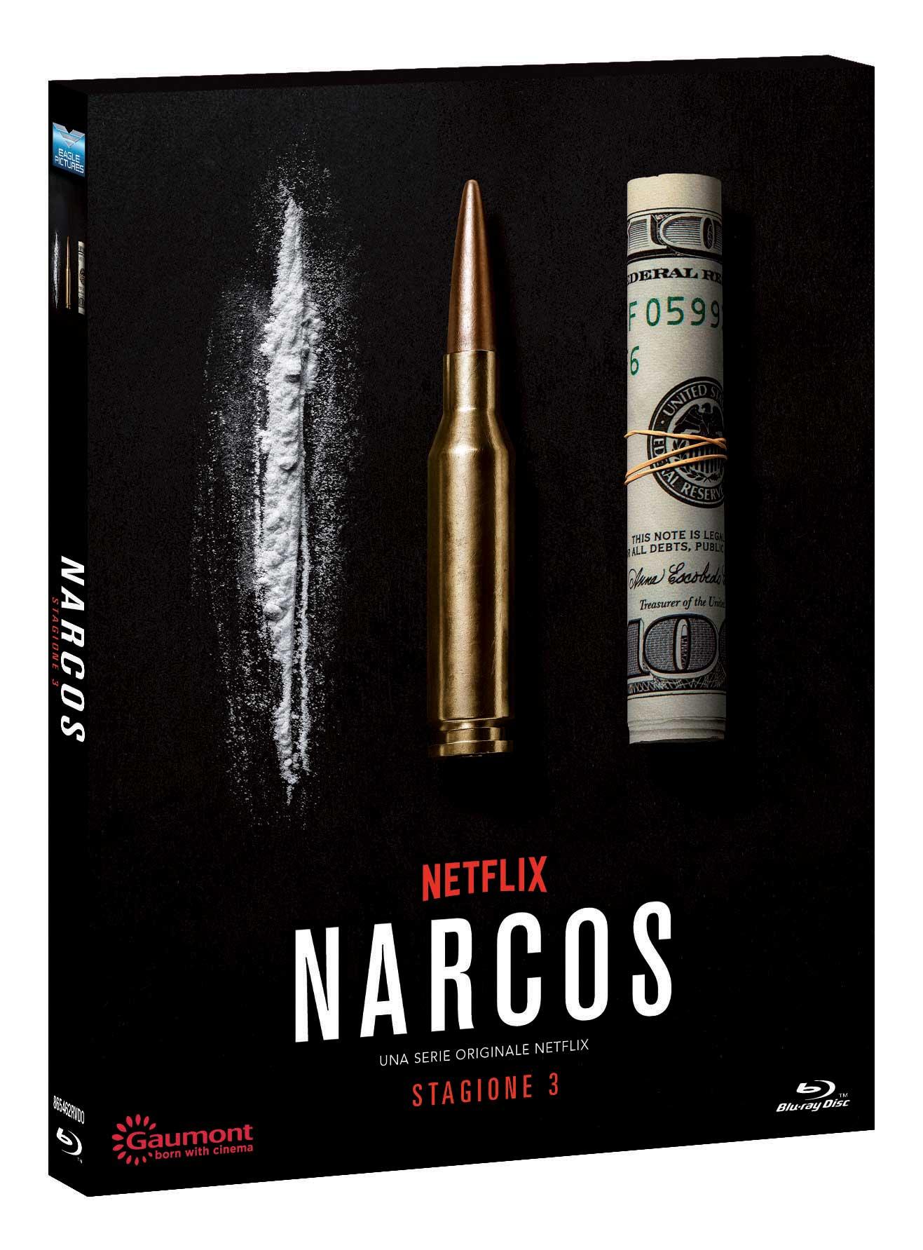 COF.NARCOS - STAGIONE 03 (3 BLU-RAY)