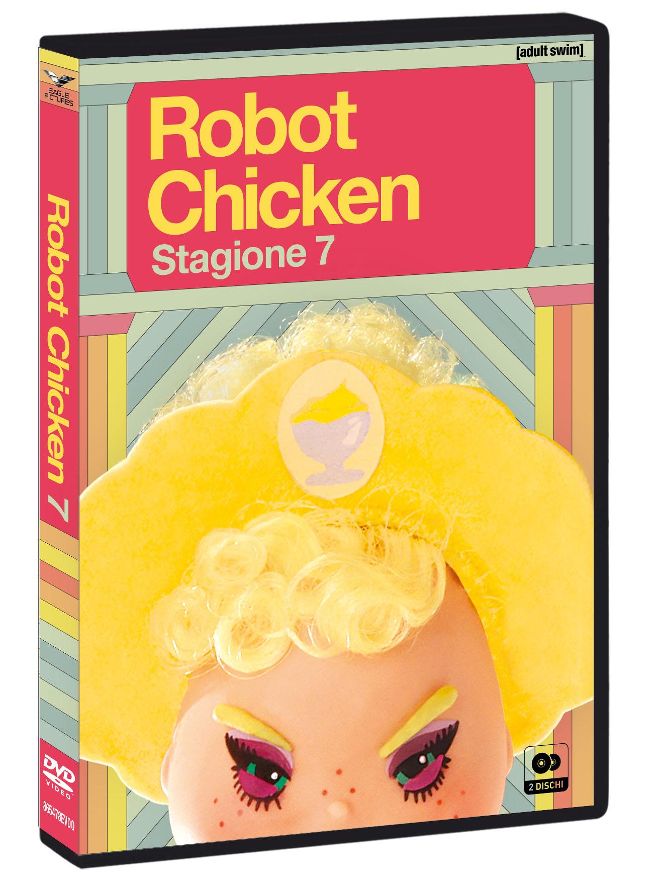COF.ROBOT CHICKEN - STAGIONE 07 (2 DVD+GADGET) (DVD)