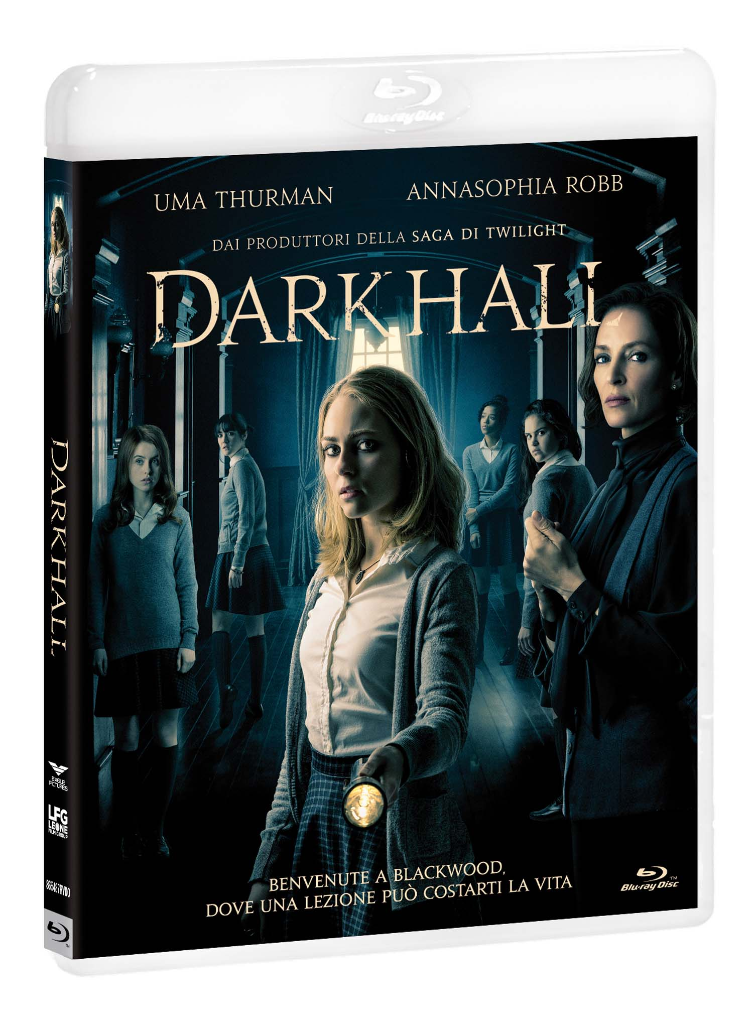 DARK HALL - BLU RAY