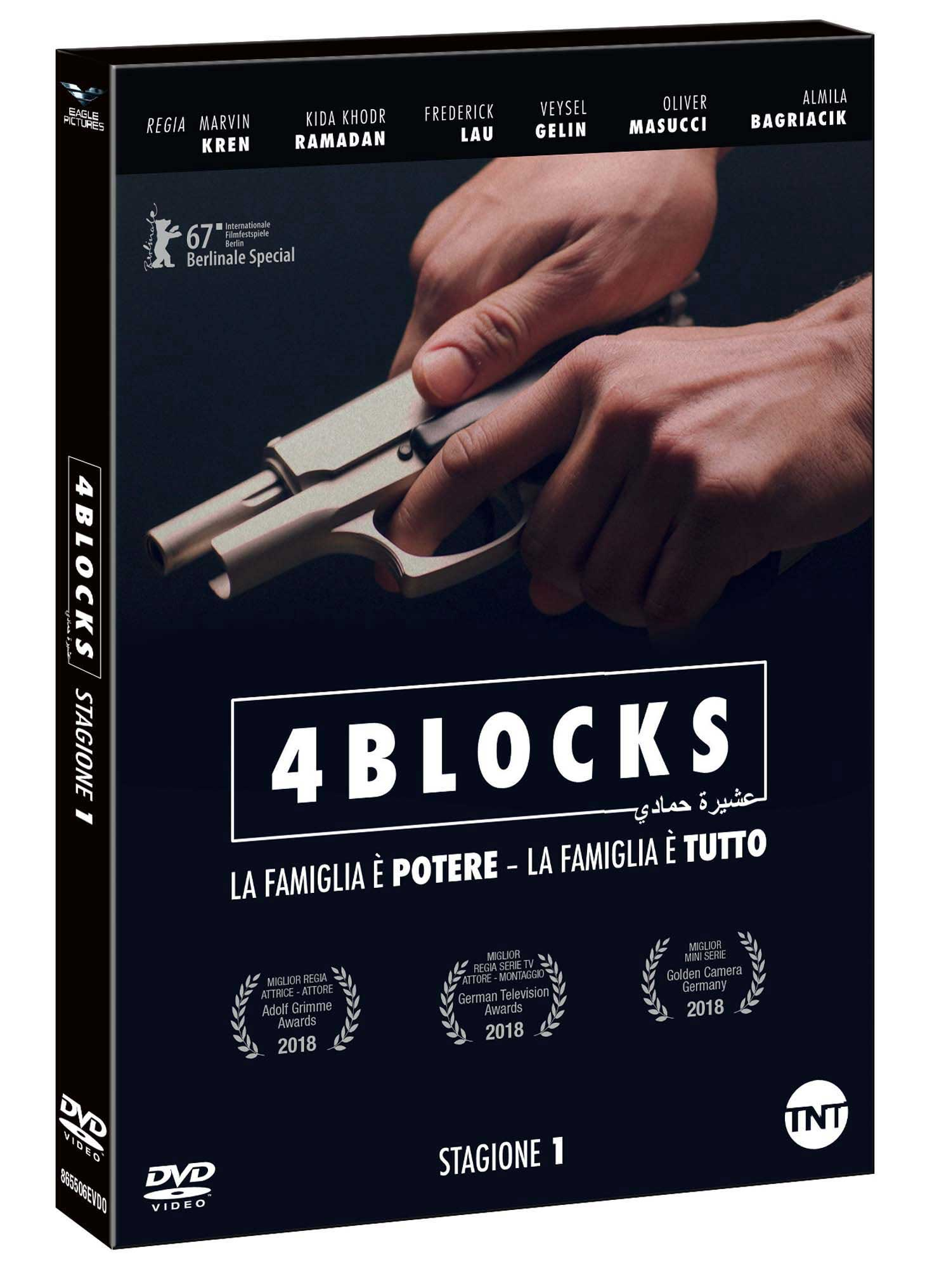 COF.4 BLOCKS - STAGIONE 01 - BLU RAY