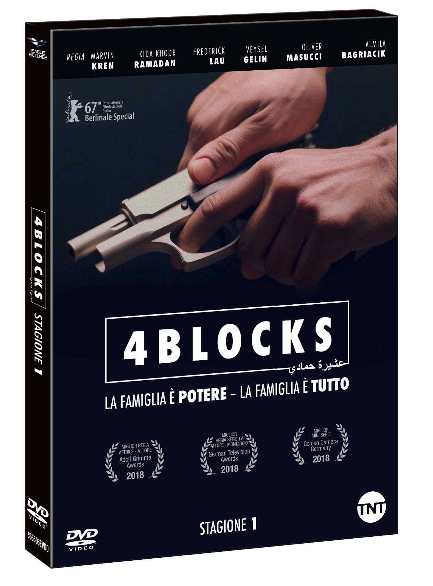 COF.4 BLOCKS - STAGIONE 01 - BLU RAY