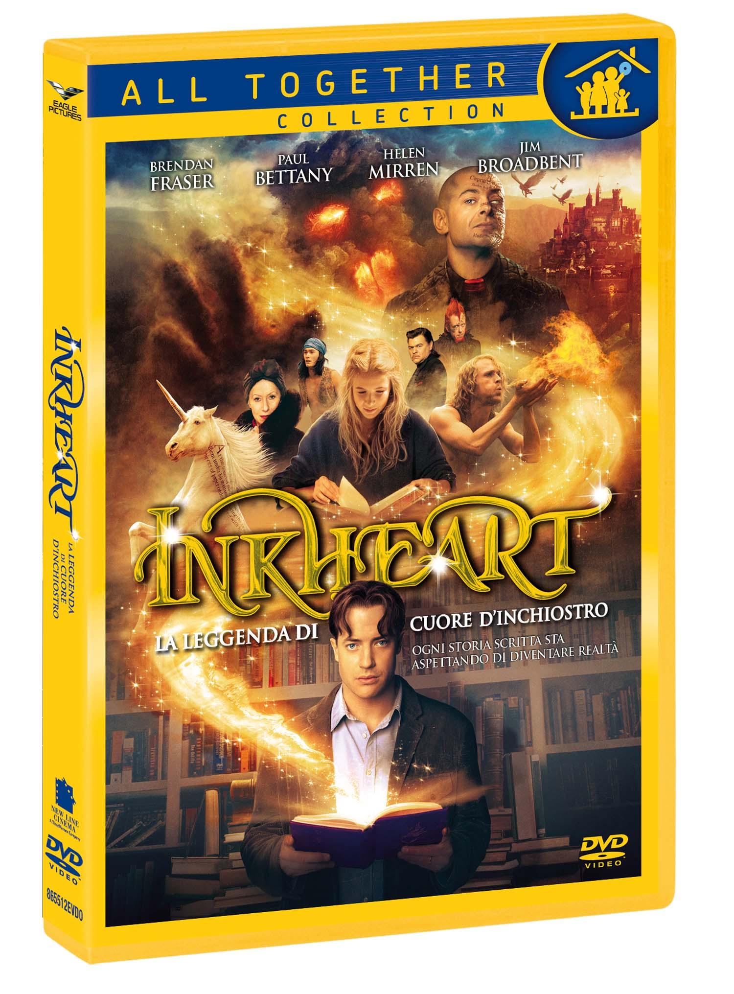 INKHEART - LA LEGGENDA DI CUORE D'INCHIOSTRO (DVD)