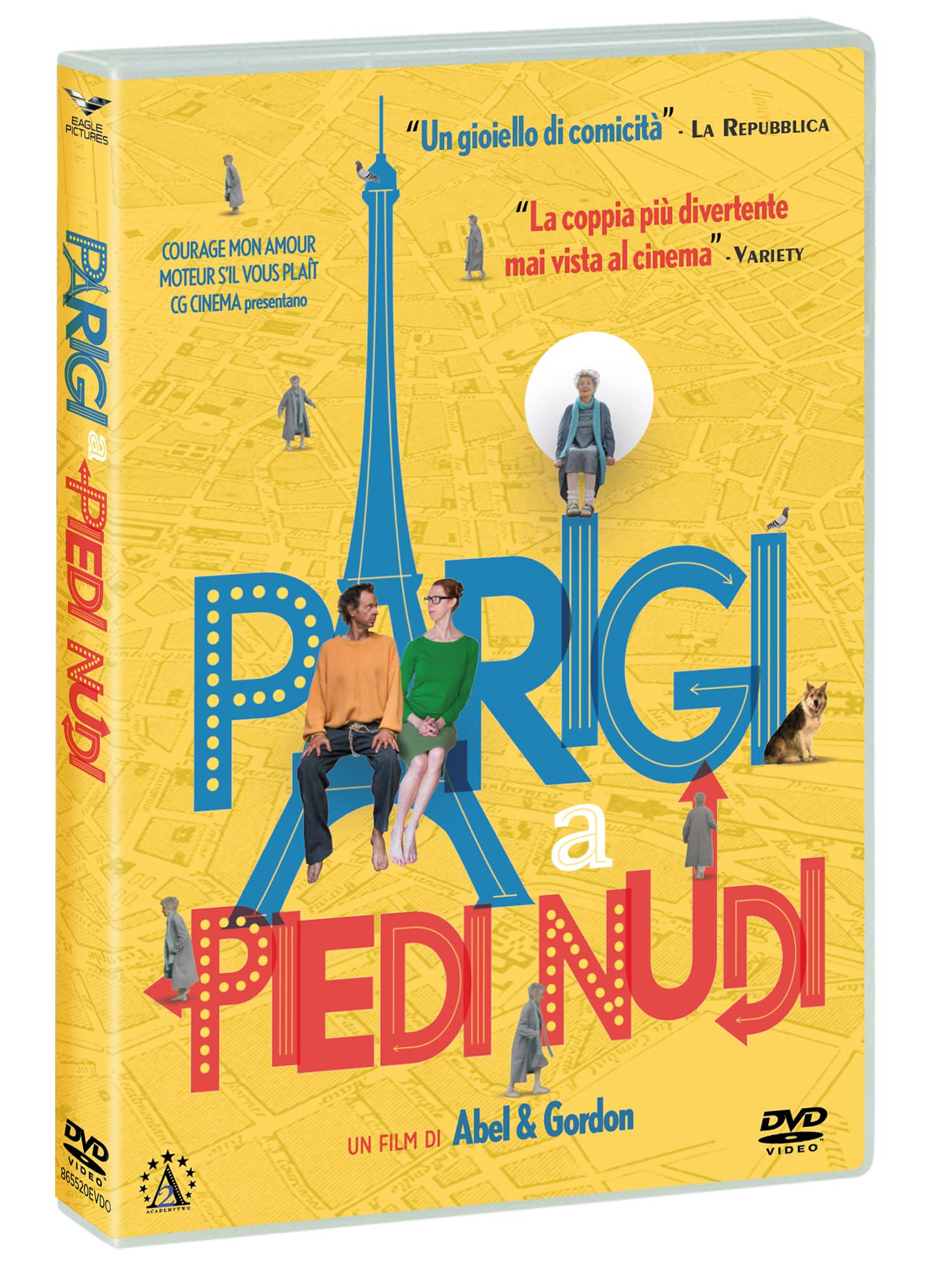 PARIGI A PIEDI NUDI (DVD)