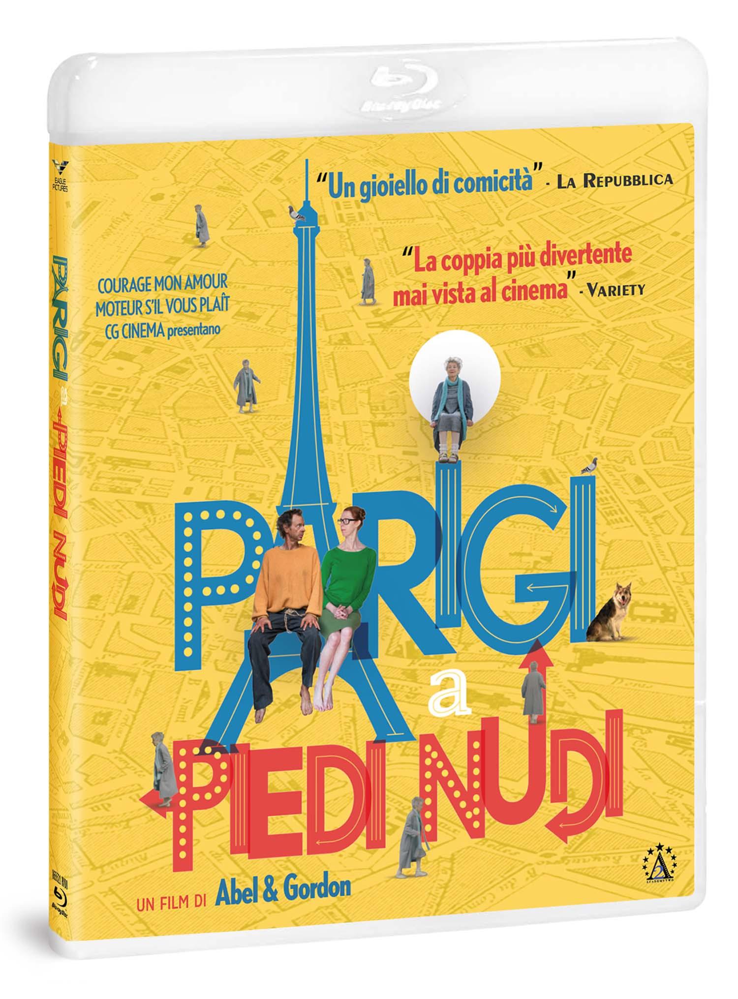 PARIGI A PIEDI NUDI - BLU RAY