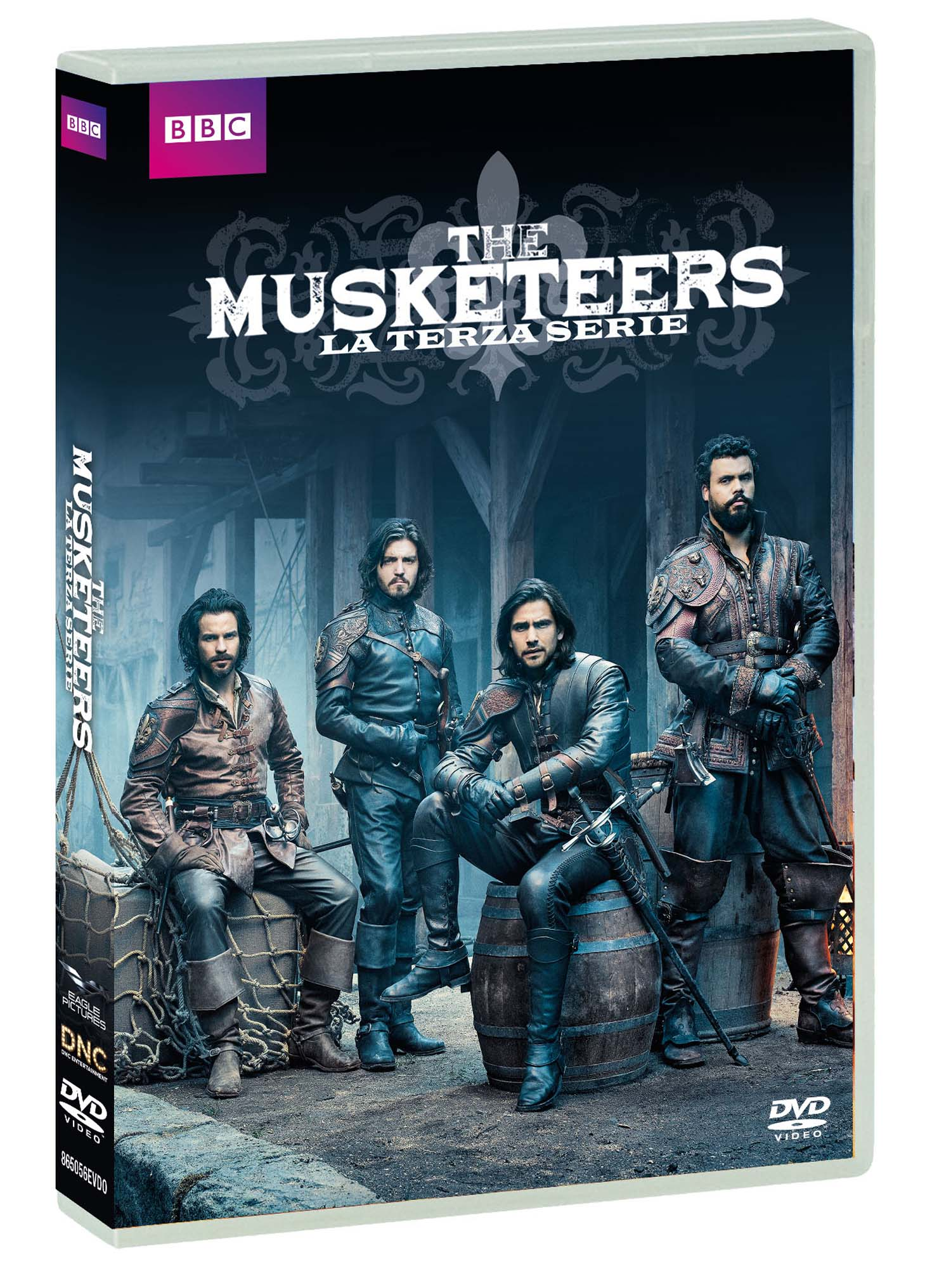 COF.THE MUSKETEERS - STAGIONE 03 (4 DVD) (DVD)