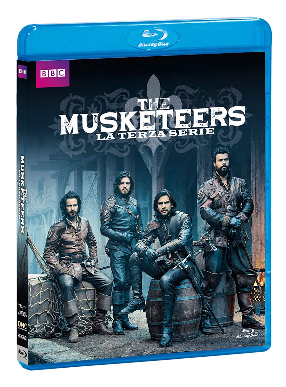 COF.THE MUSKETEERS - STAGIONE 03 (3 BLU-RAY)