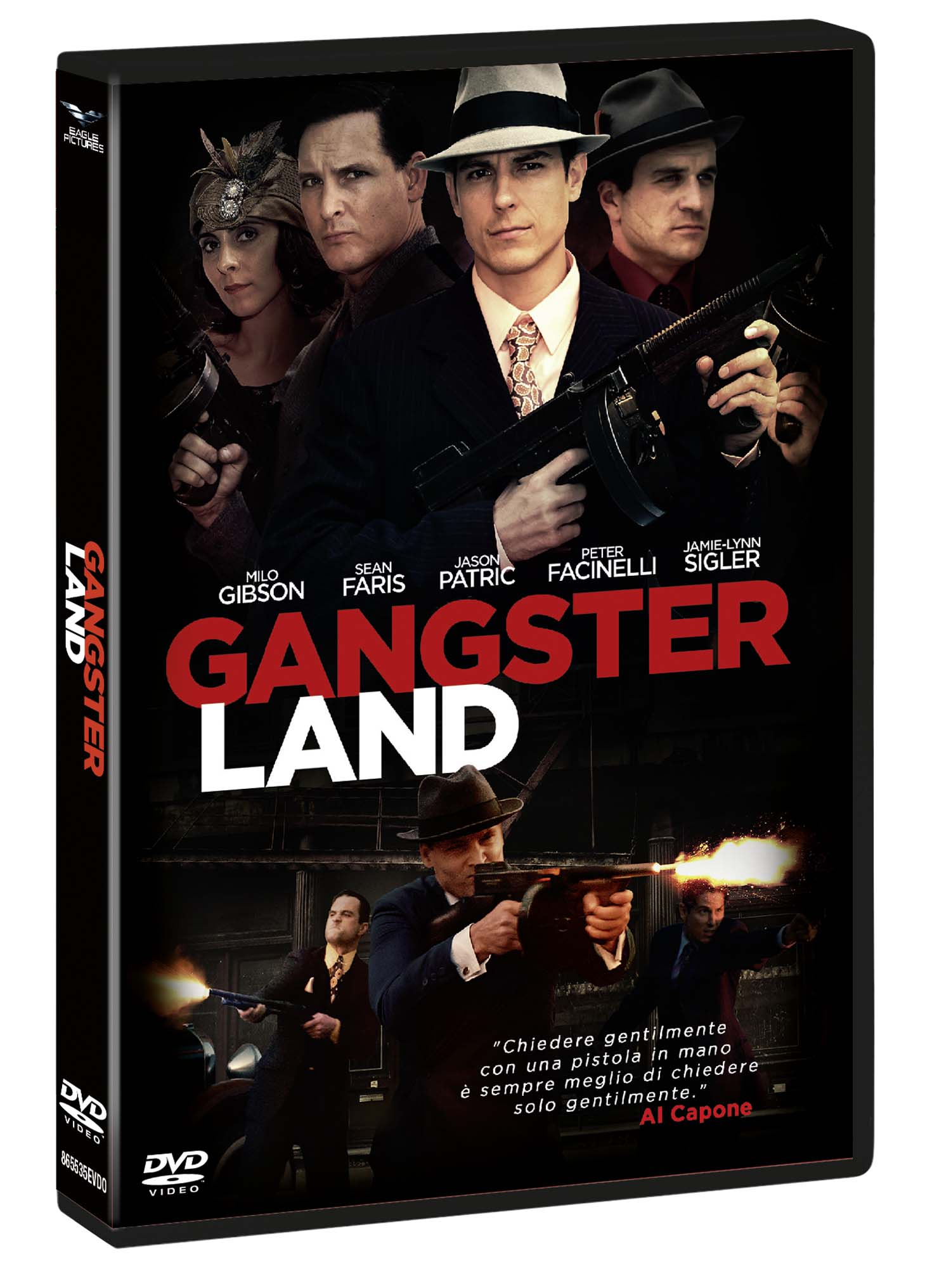 GANGSTER LAND (DVD)