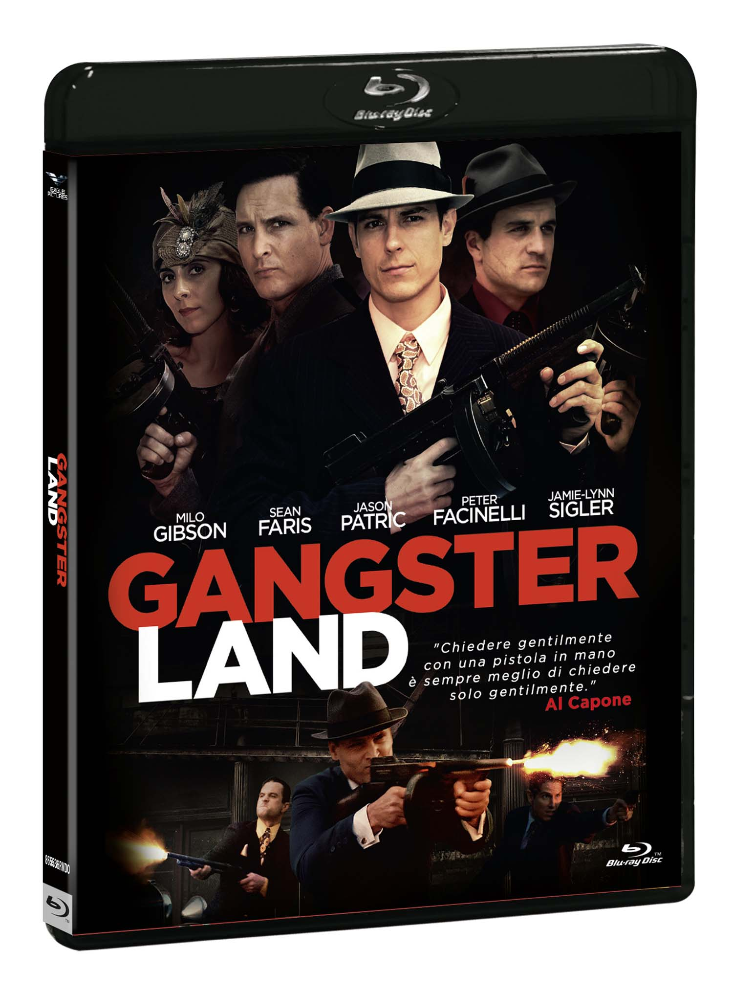 GANGSTER LAND - BLU RAY