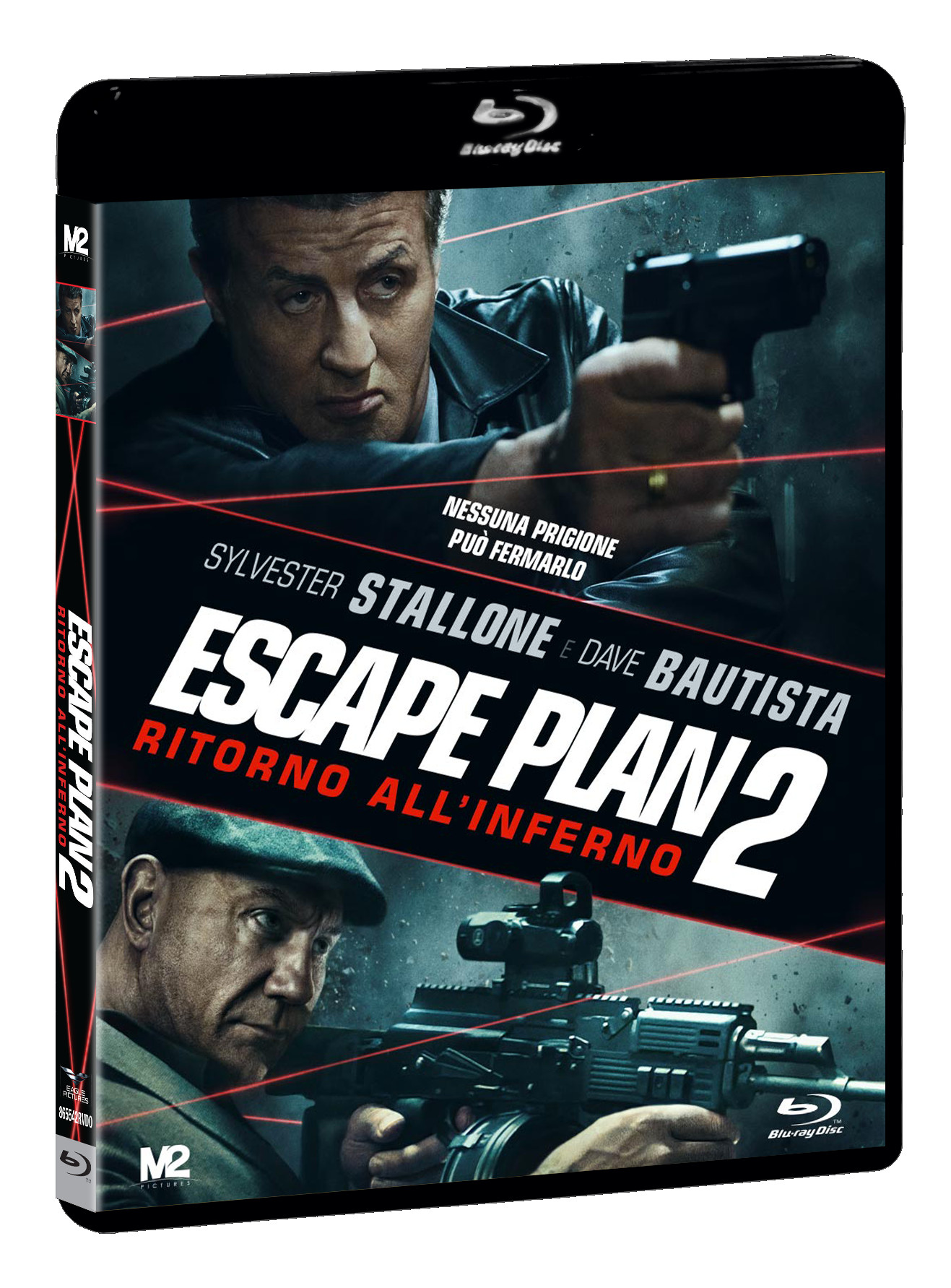 ESCAPE PLAN 2 - RITORNO ALL'INFERNO - BLU RAY