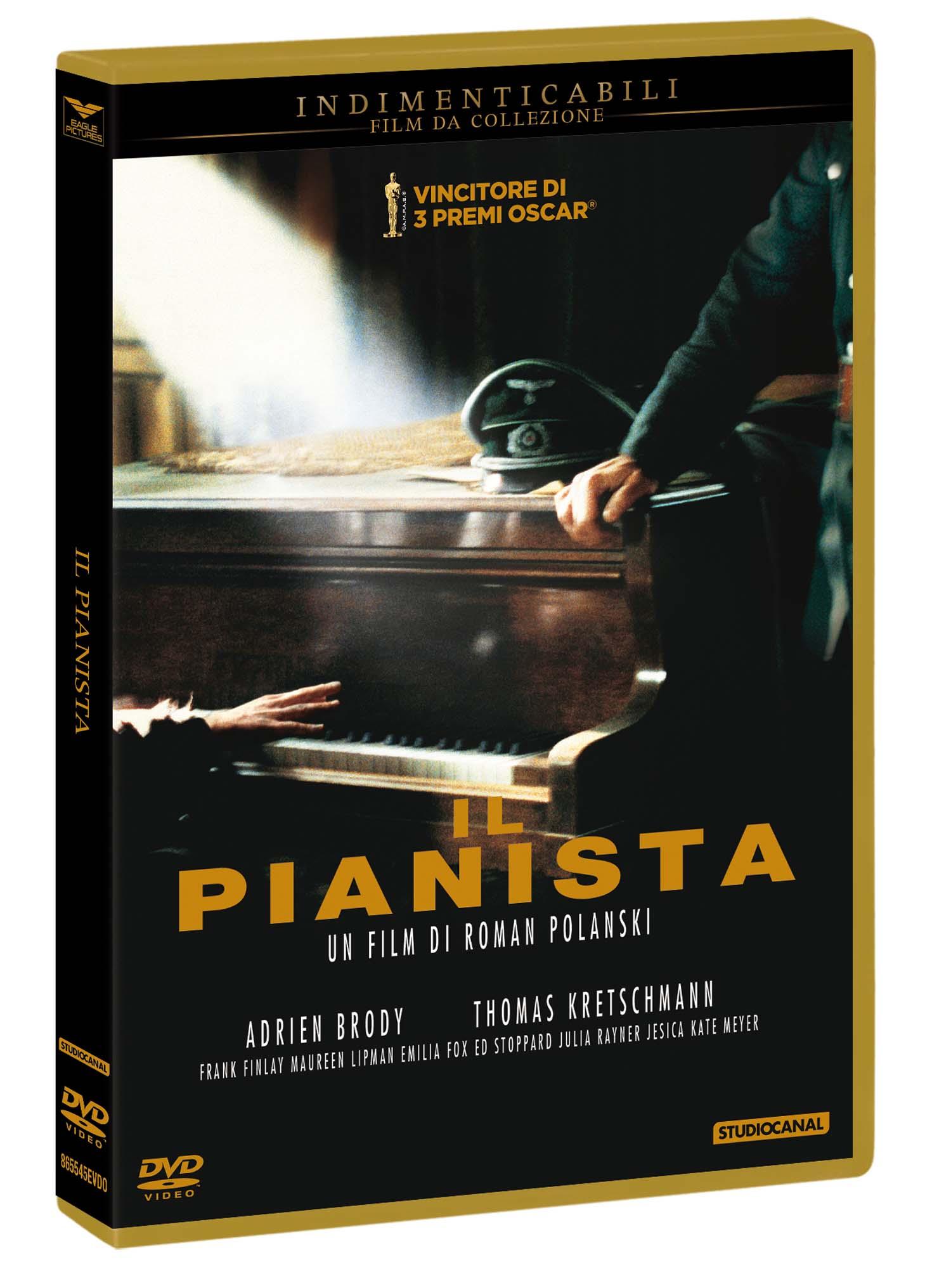 IL PIANISTA (INDIMENTICABILI) - BLU RAY