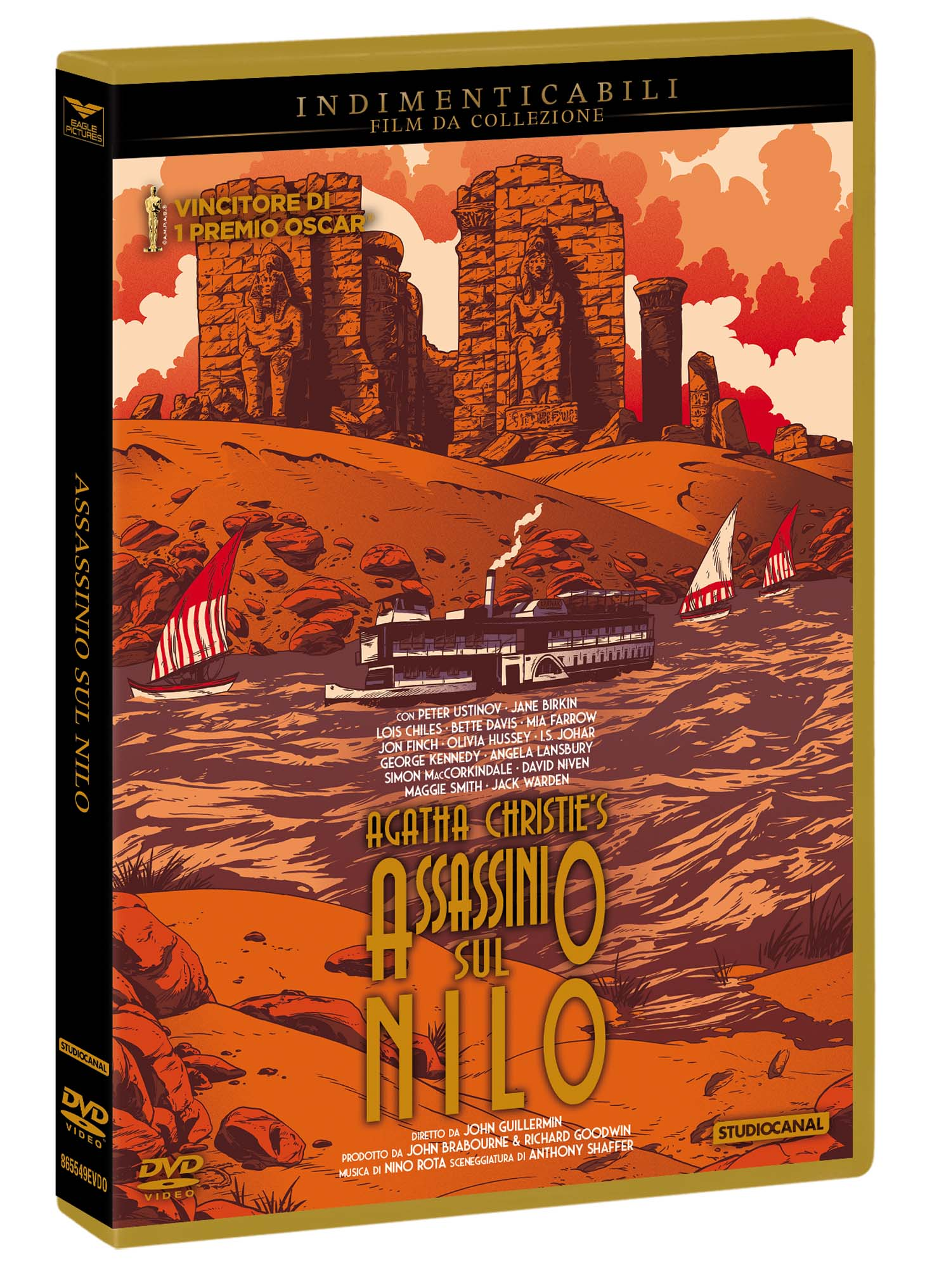 ASSASSINIO SUL NILO (INDIMENTICABILI) (DVD)