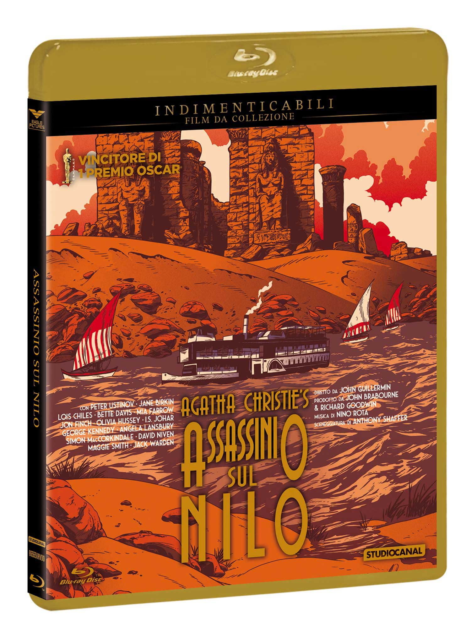 ASSASSINIO SUL NILO (INDIMENTICABILI) - BLU RAY