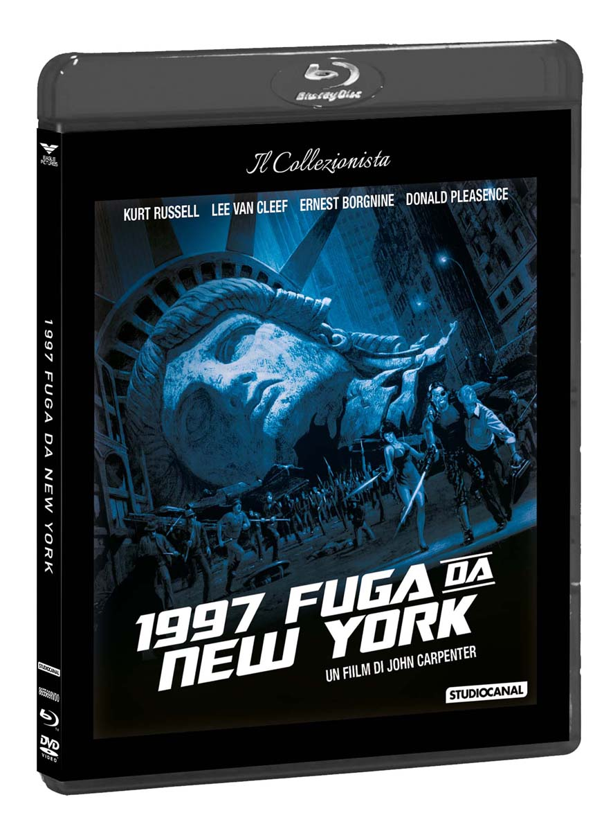 1997 FUGA DA NEW YORK (DVD+BLU-RAY)
