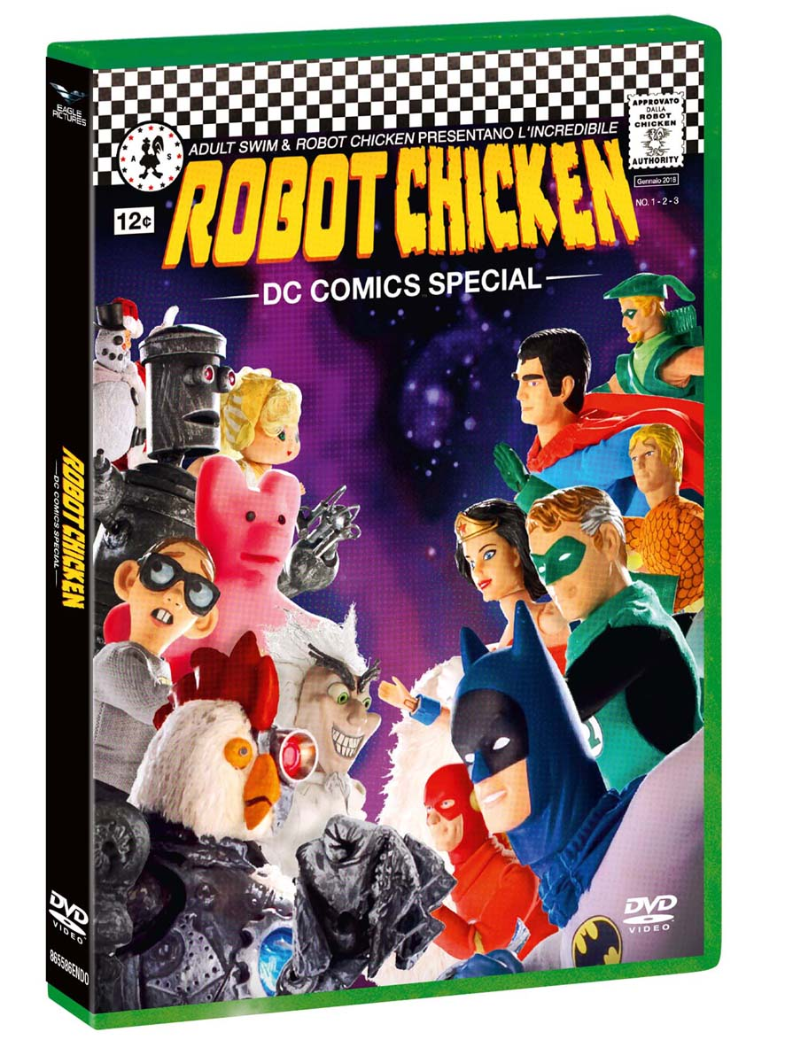 ROBOT CHICKEN - DC COMICS SPECIAL (DVD)