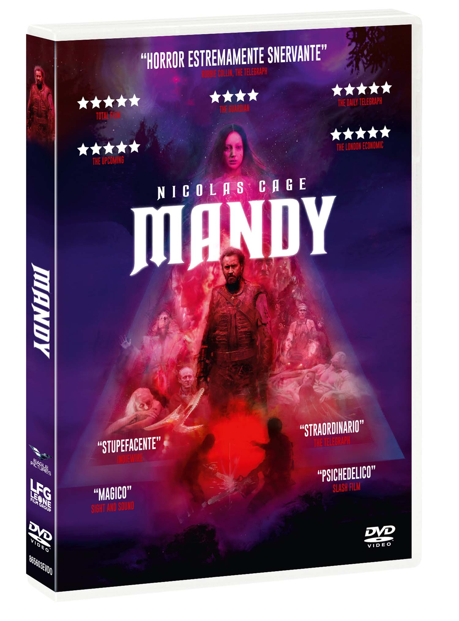 MANDY (TOMBSTONE COLLECTION) (DVD)