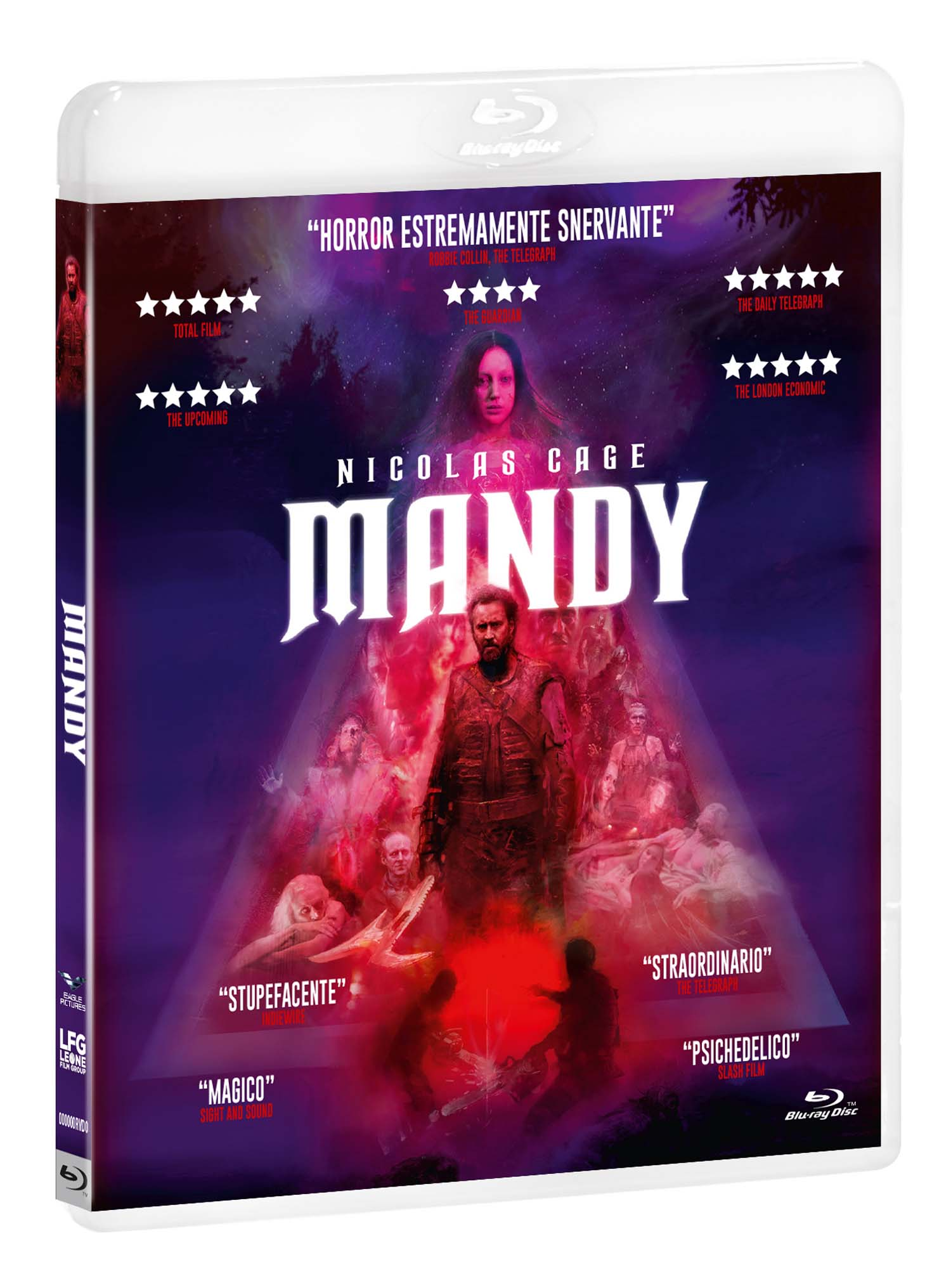 MANDY (TOMBSTONE COLLECTION) - BLU RAY