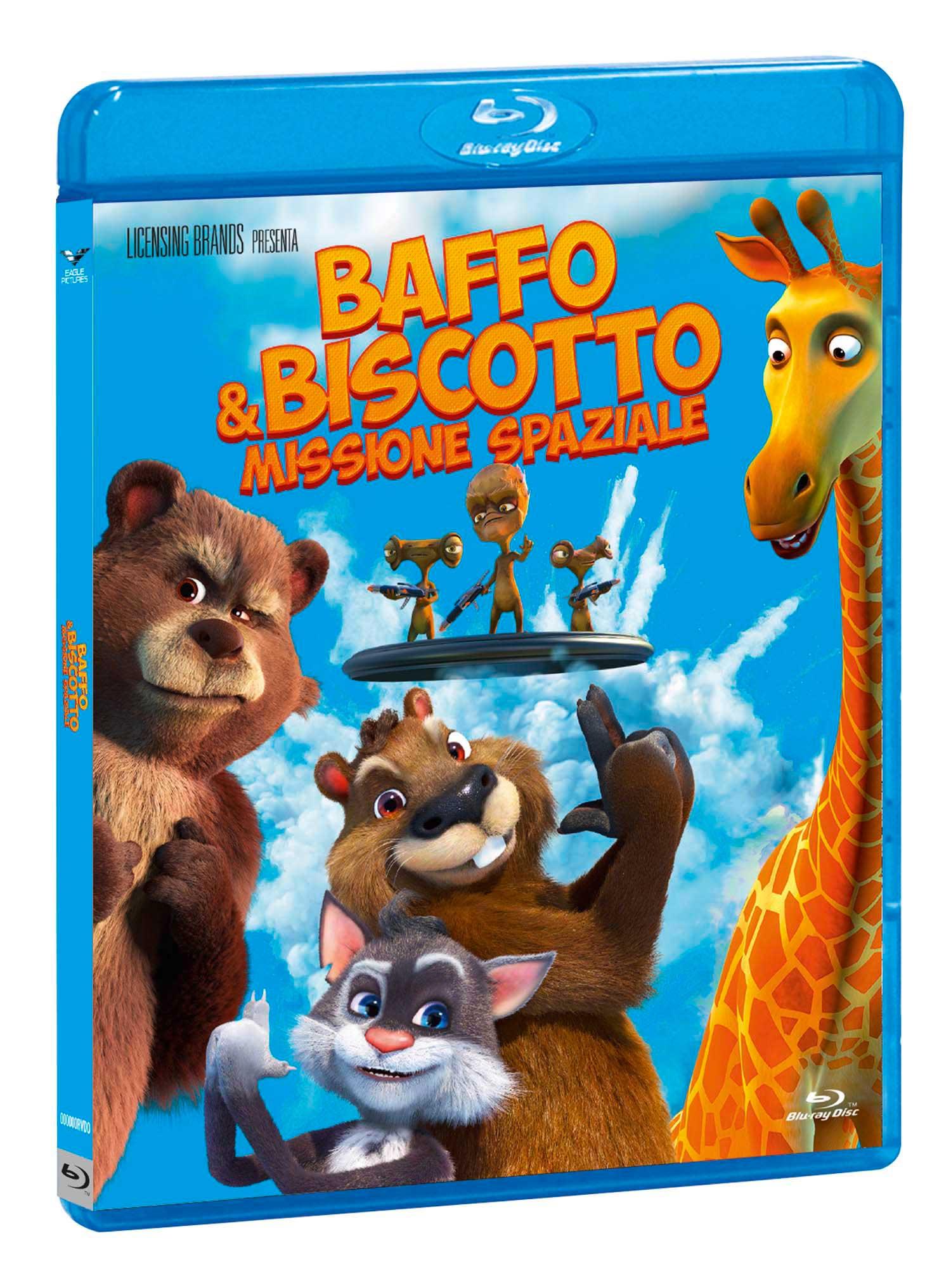 BAFFO & BISCOTTO - MISSIONE SPAZIALE - BLU RAY
