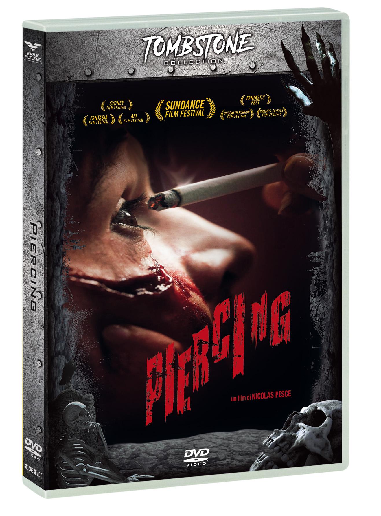 PIERCING (DVD+CARD TAROCCO) (TOMBSTONE) (DVD)