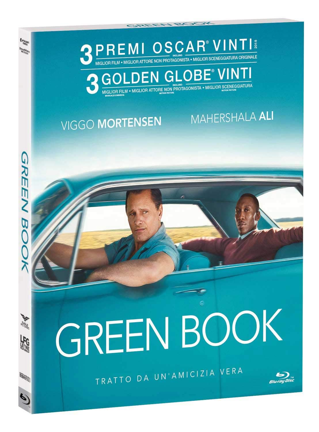 GREEN BOOK - BLU RAY
