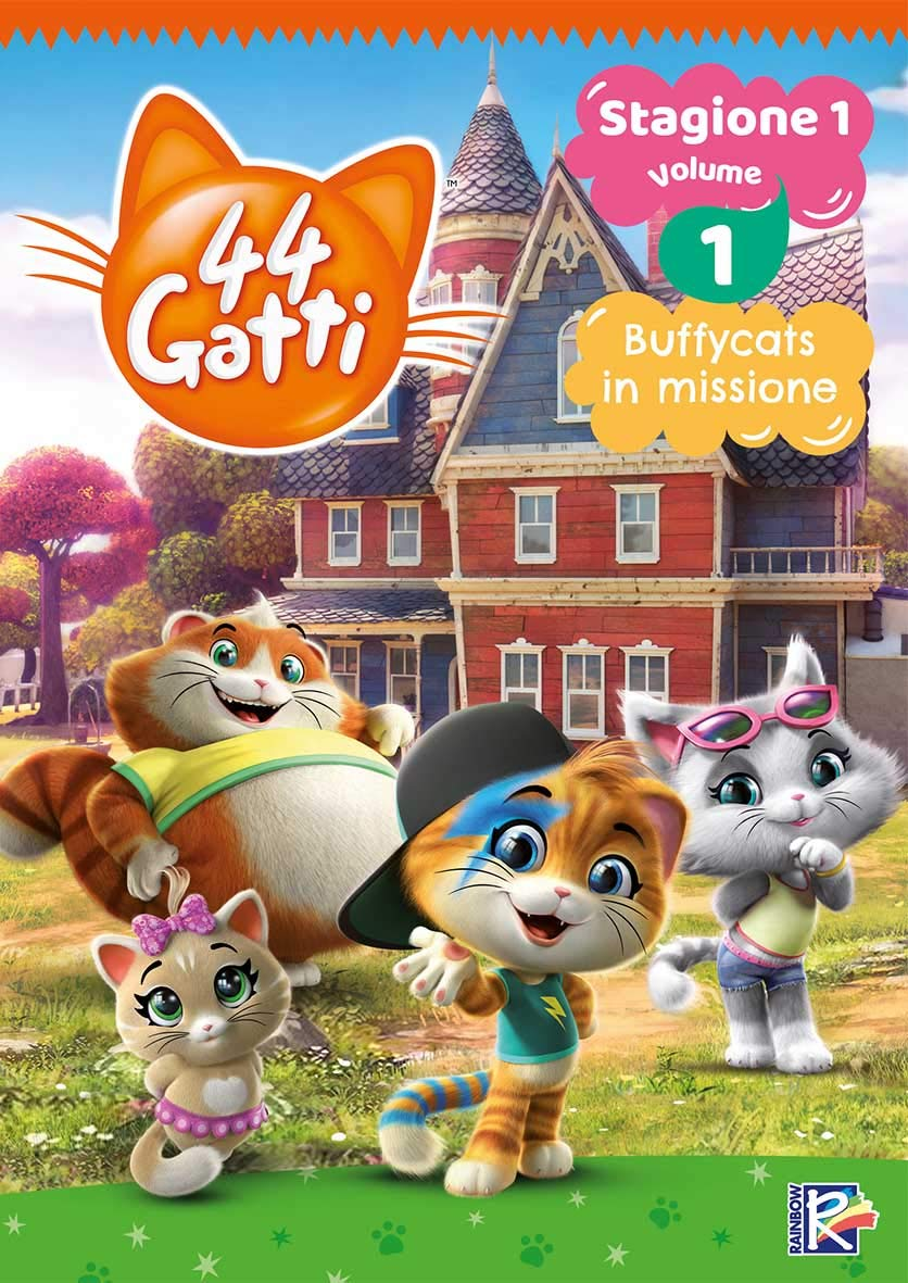 44 GATTI #01 (DVD+CARD DA COLLEZIONE) (DVD)