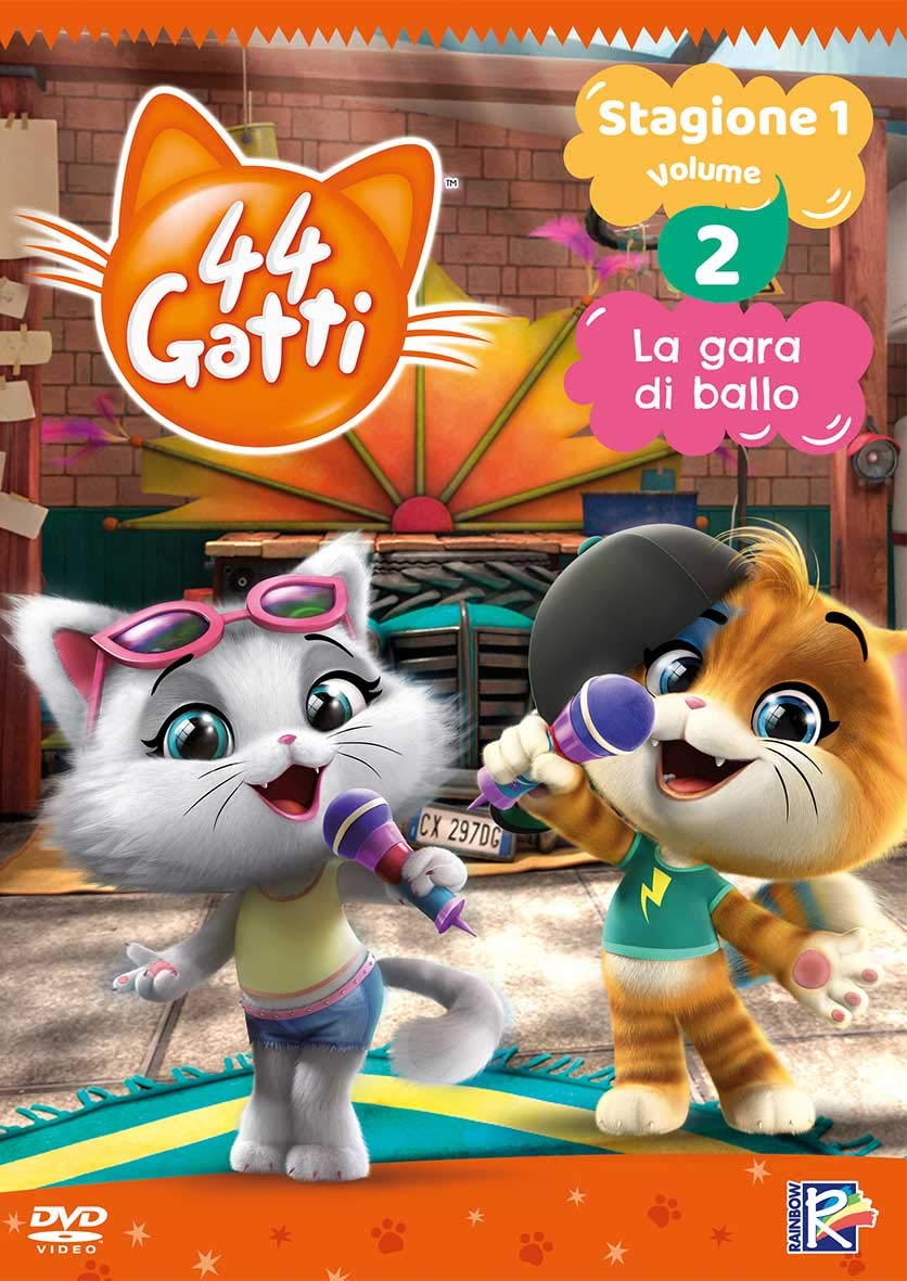 44 GATTI #02 (DVD+CARD DA COLLEZIONE) (DVD)