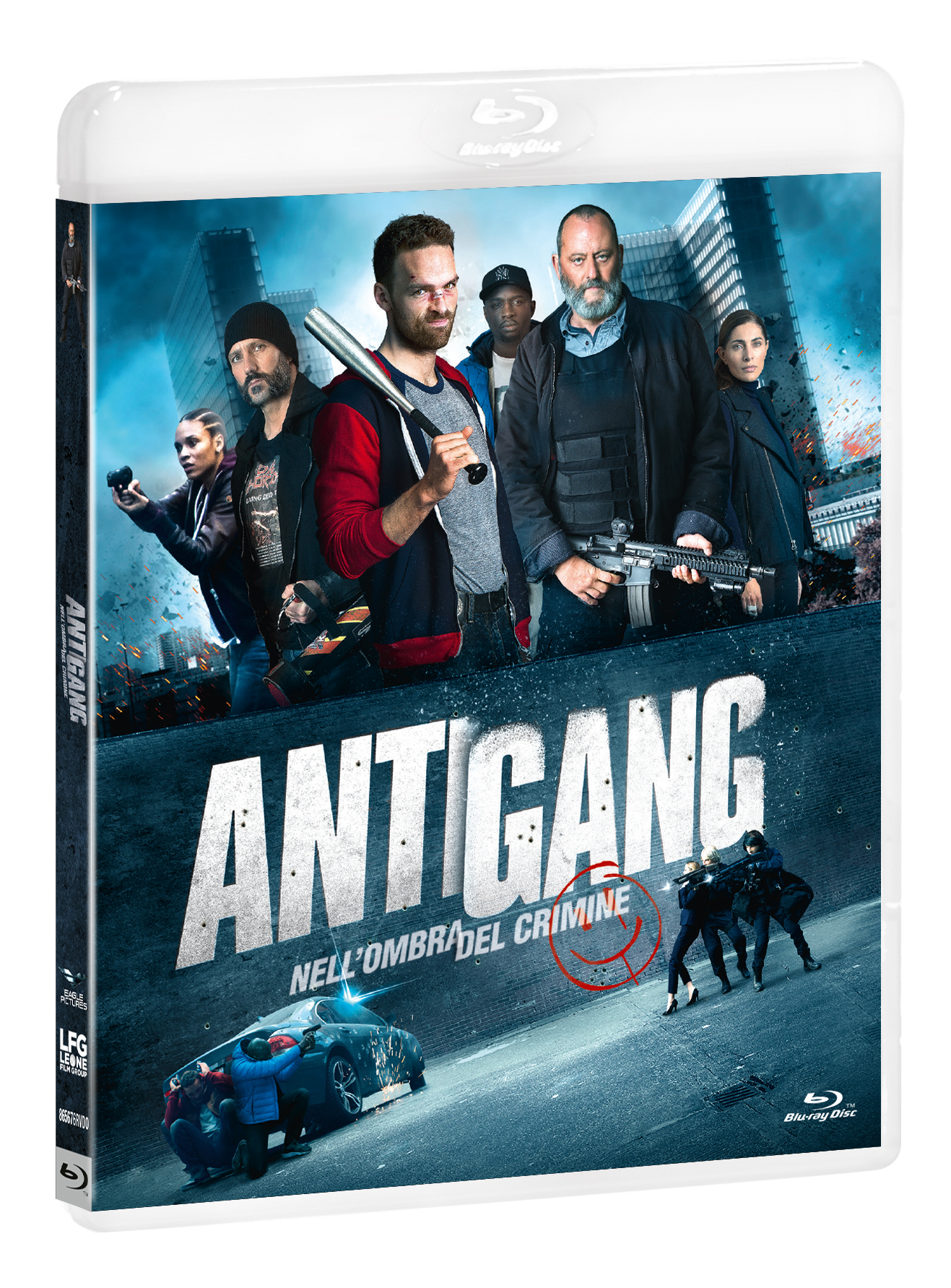 ANTIGANG - NELL'OMBRA DEL CRIMINE - BLU RAY
