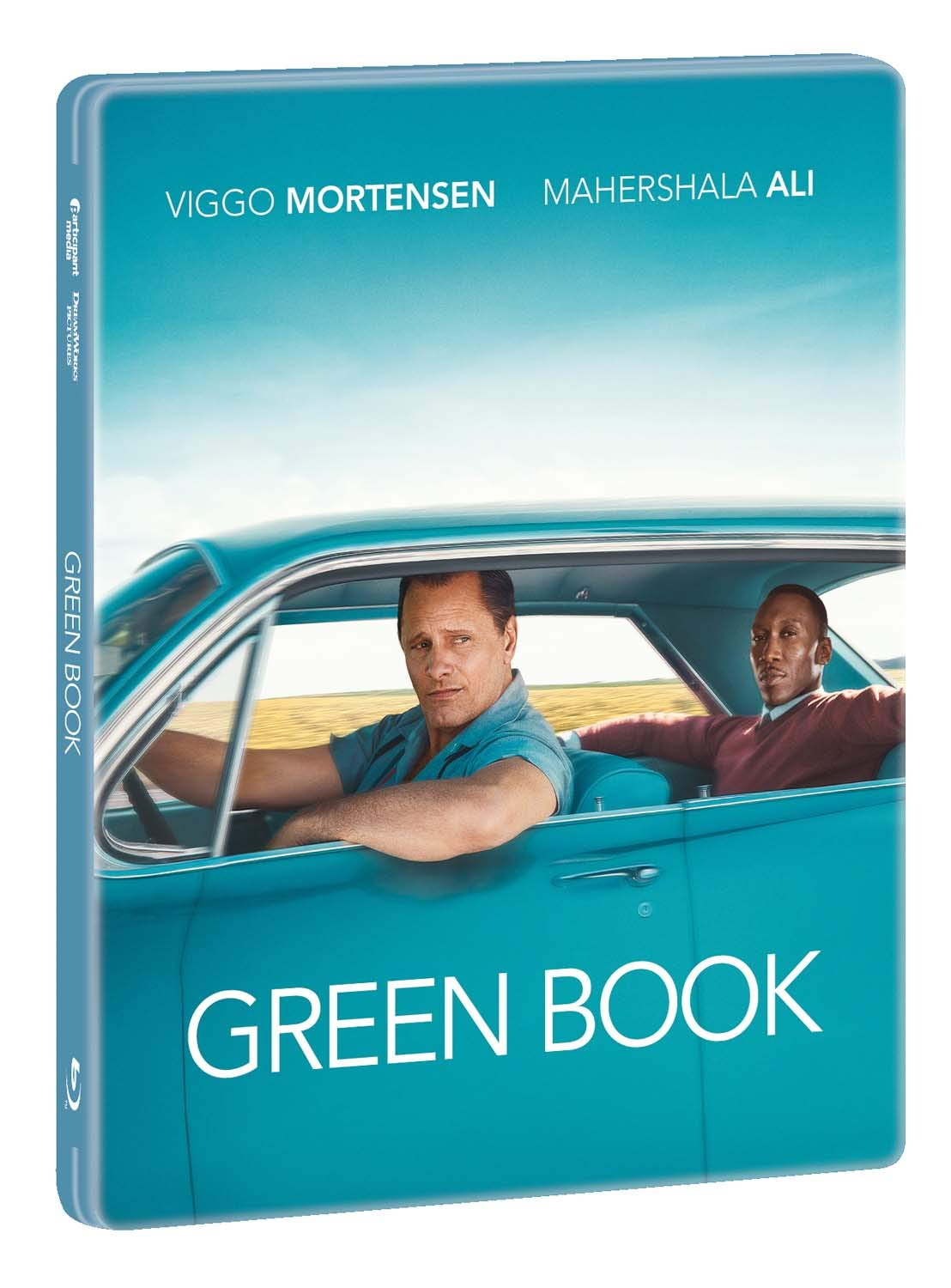 GREEN BOOK (STEELBOOK) - BLU RAY