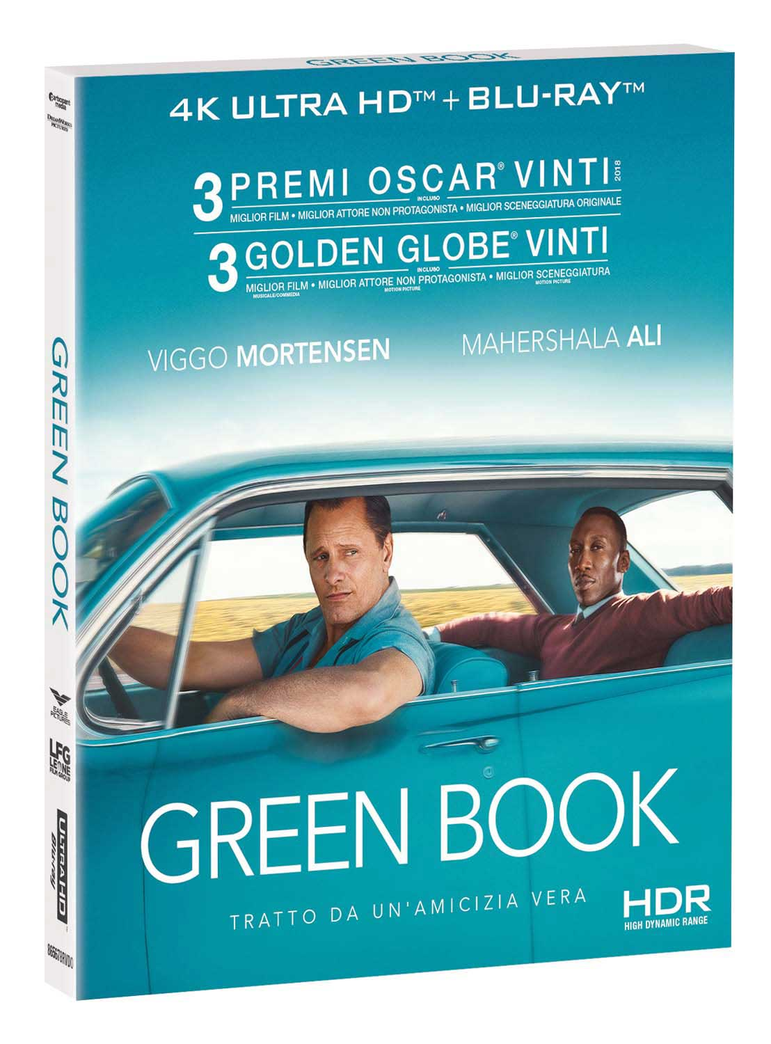 GREEN BOOK (BLU-RAY 4K+BLU-RAY)