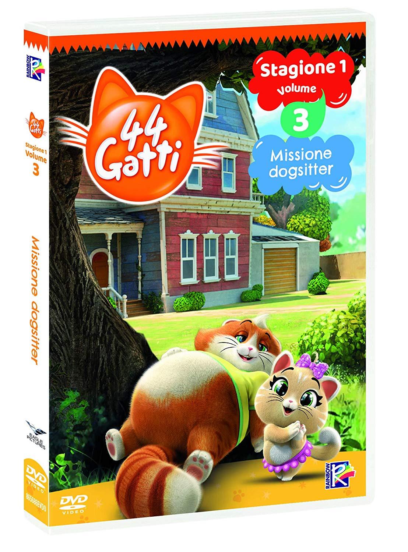 44 GATTI #03 - MISSIONE DOGSITTER (DVD)