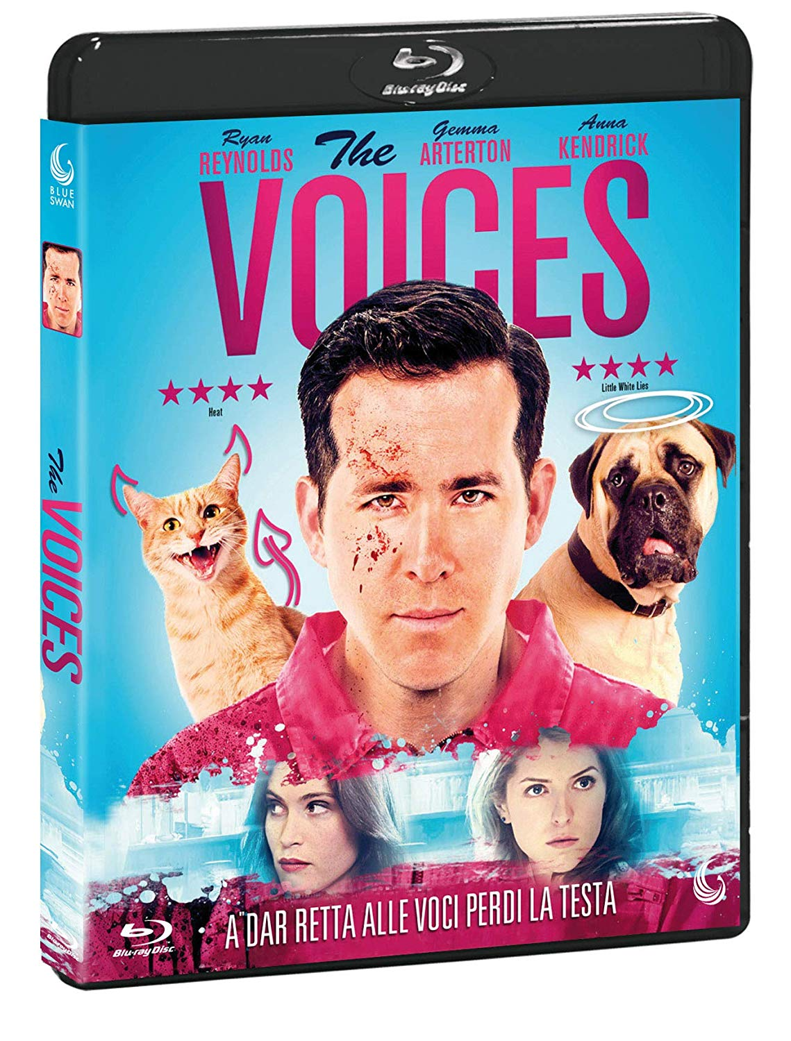 THE VOICES - BLU RAY