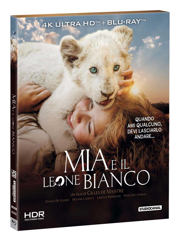 MIA E IL LEONE BIANCO (BLU-RAY 4K+BLU-RAY)